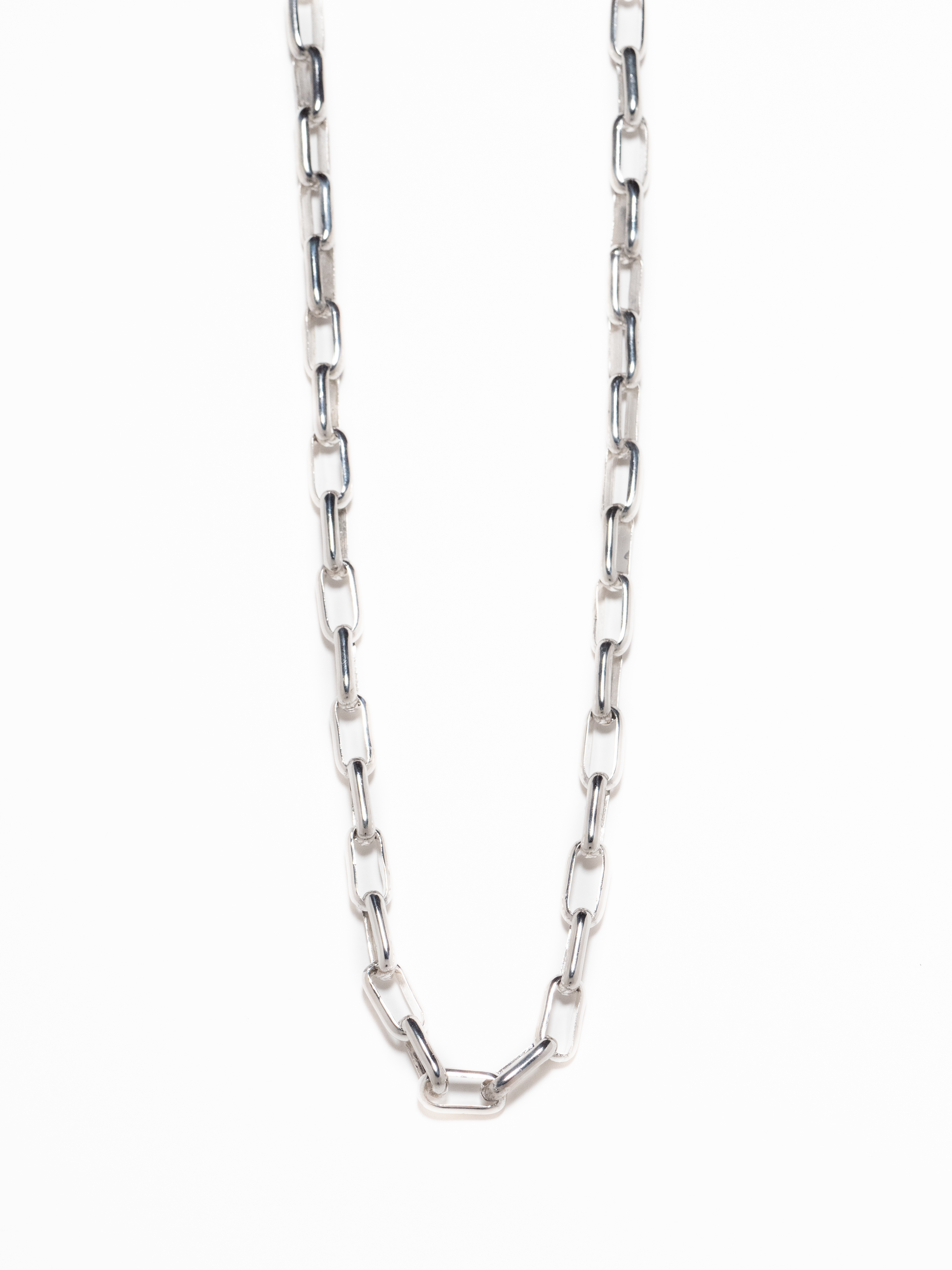 Long Navajo Chain Necklace / Larry Yazzie