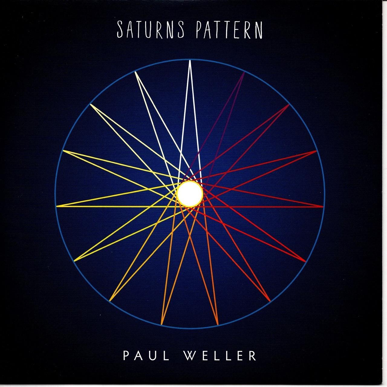 【7inch・英盤】Paul Weller /  Saturns Pattern
