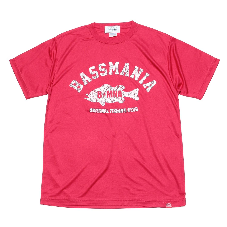 ペイズリーアーチ dry Tシャツ  [RED]