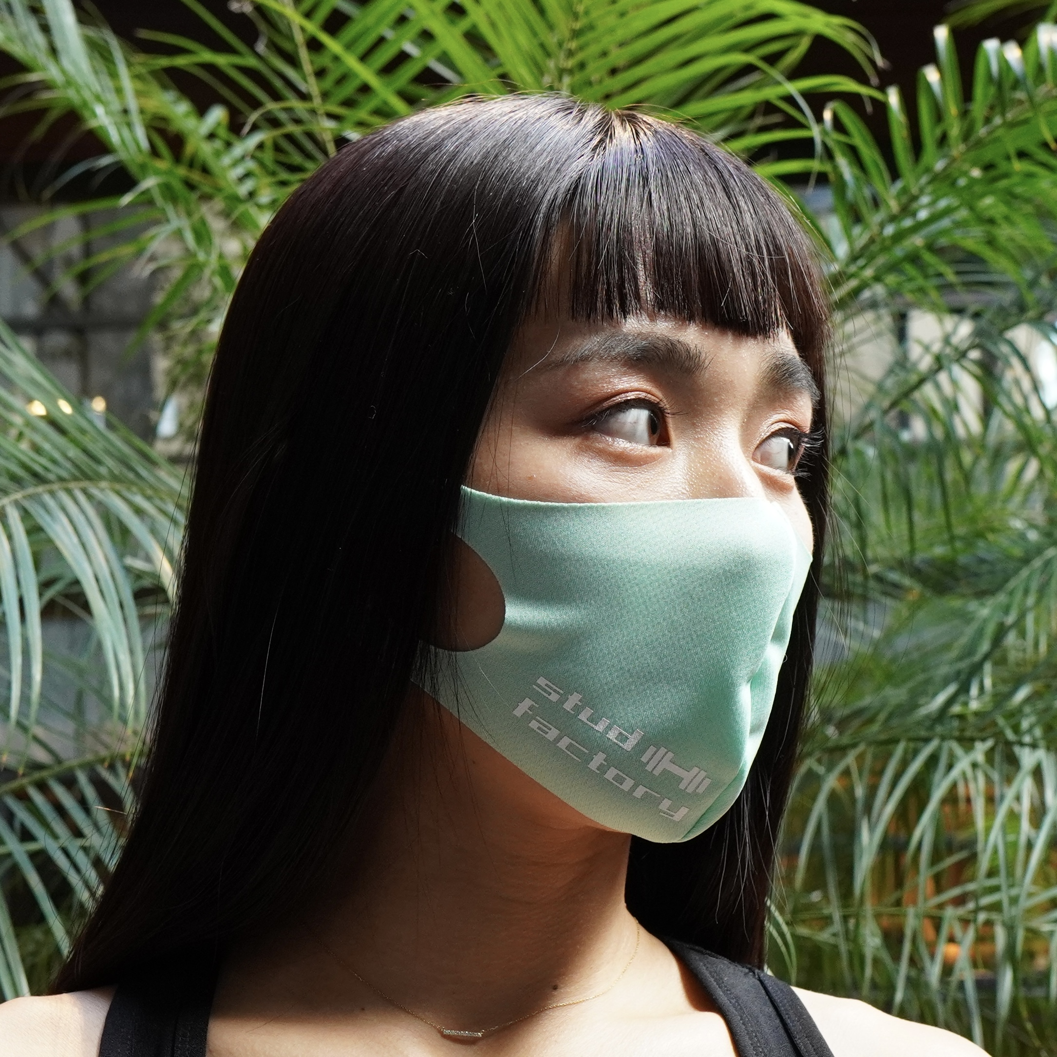 LADIES dry fit mask (MELON)