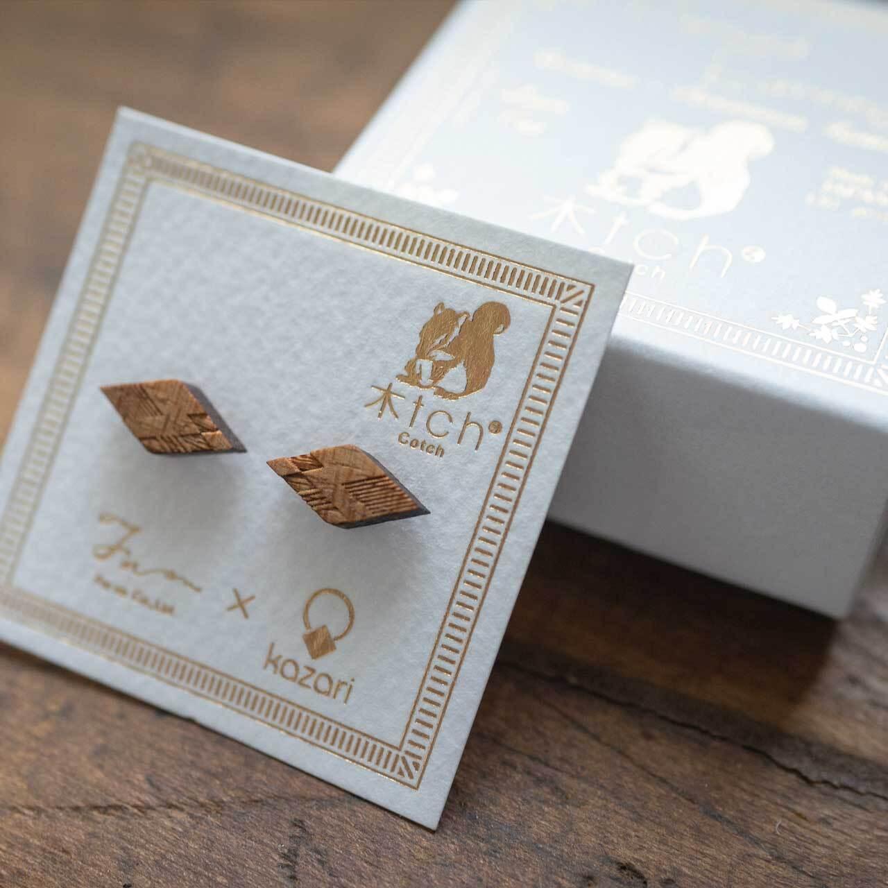 hishi / ヒシ(Pierced Mini)