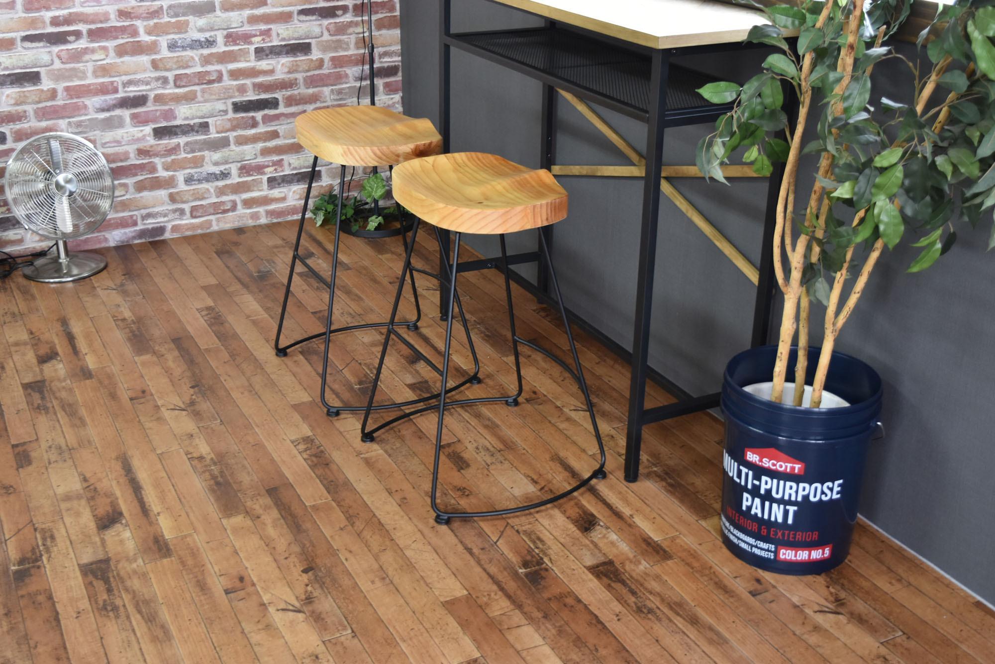 Smoky High Chair NA / ヴィンテージスタイル スモーキー ハイチェア / ナチュラル