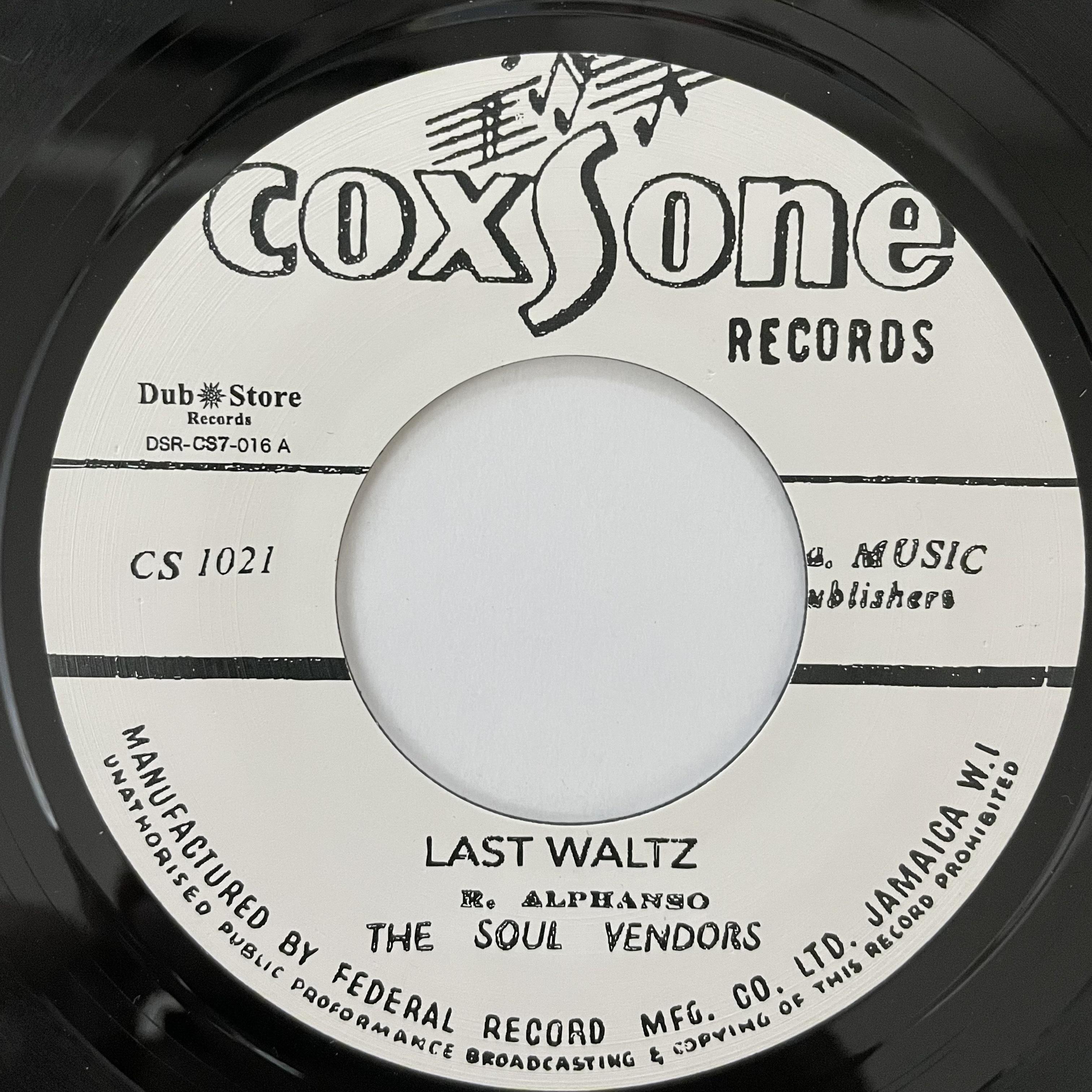 Soul Vendors - Last Waltz【7-00000】