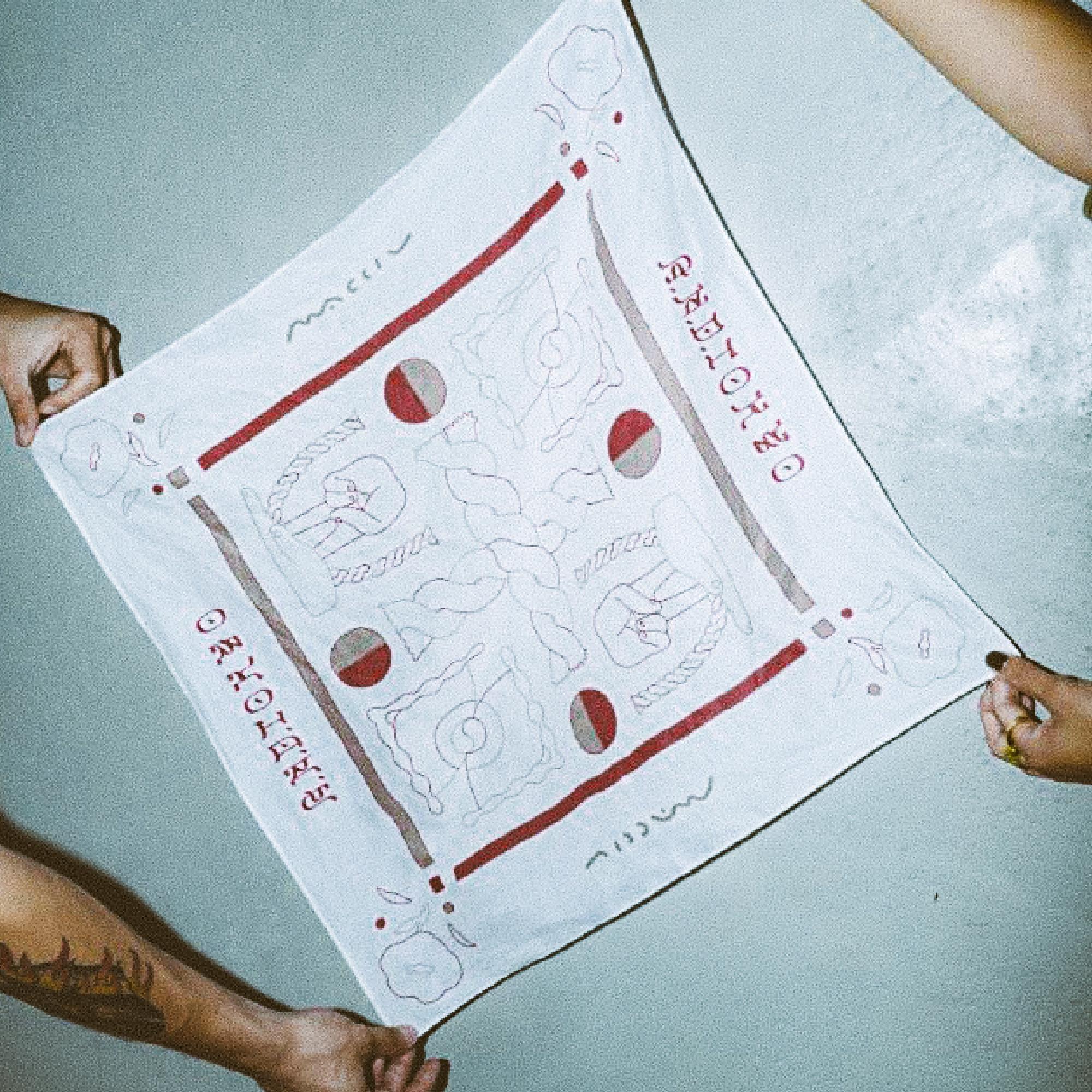 A.N.D.×MACCIU / collaboration BANDANA