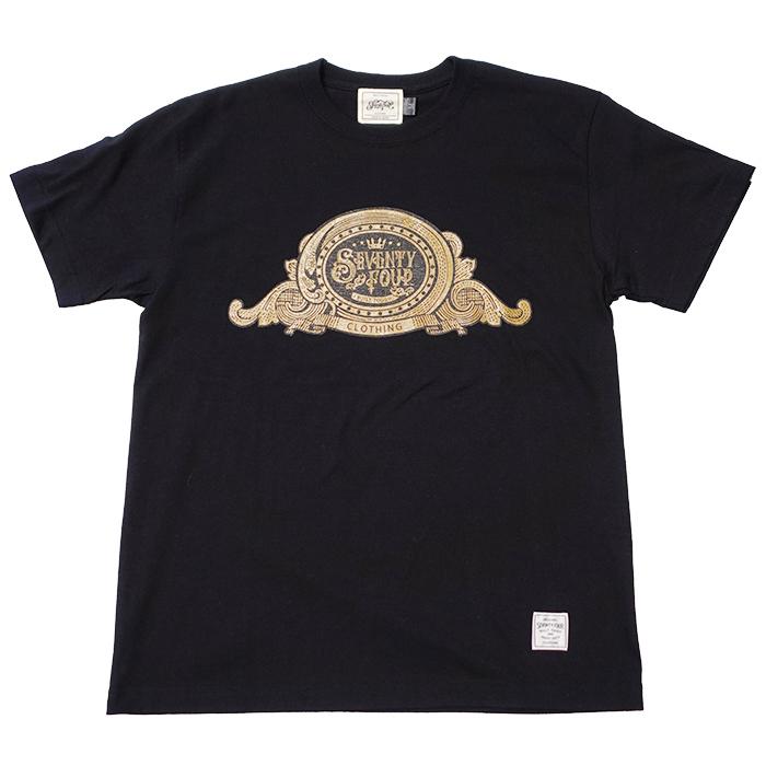 SEVENTY FOUR(セブンティーフォー) / BILL LOGO T-SHIRT(BLACK)(STF21SF4)(Tシャツ)