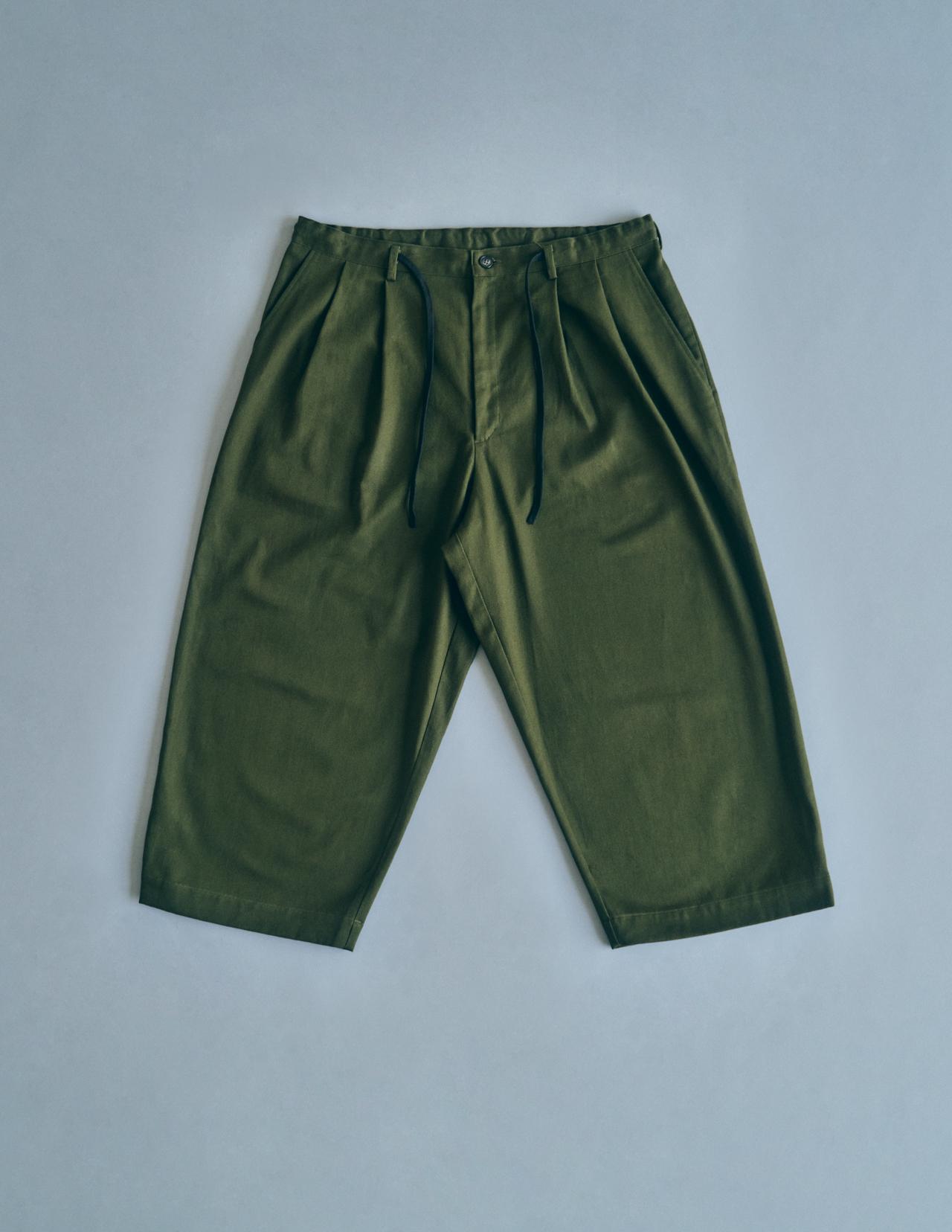 [ATAMI 'n' TOKYO×BEDORO] Easy Wide Pants - アオギリ