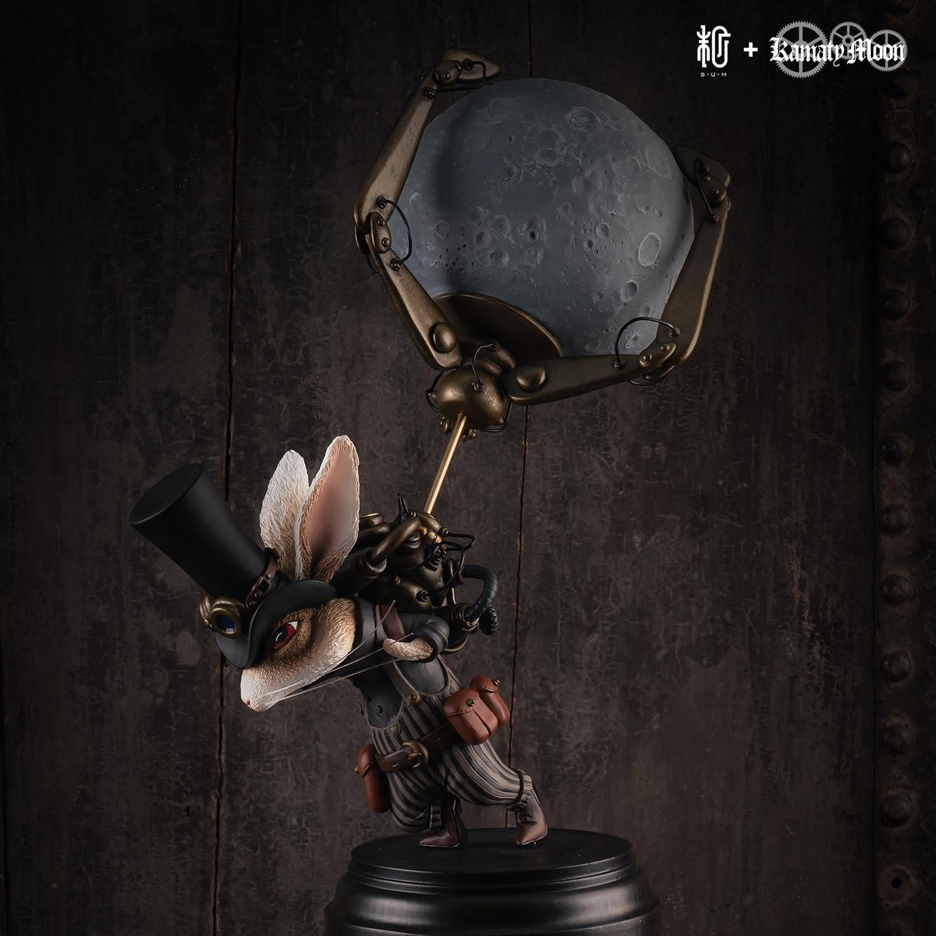 月を盗んだウサギ(Rabbit who stole the moon)|鎌田光司