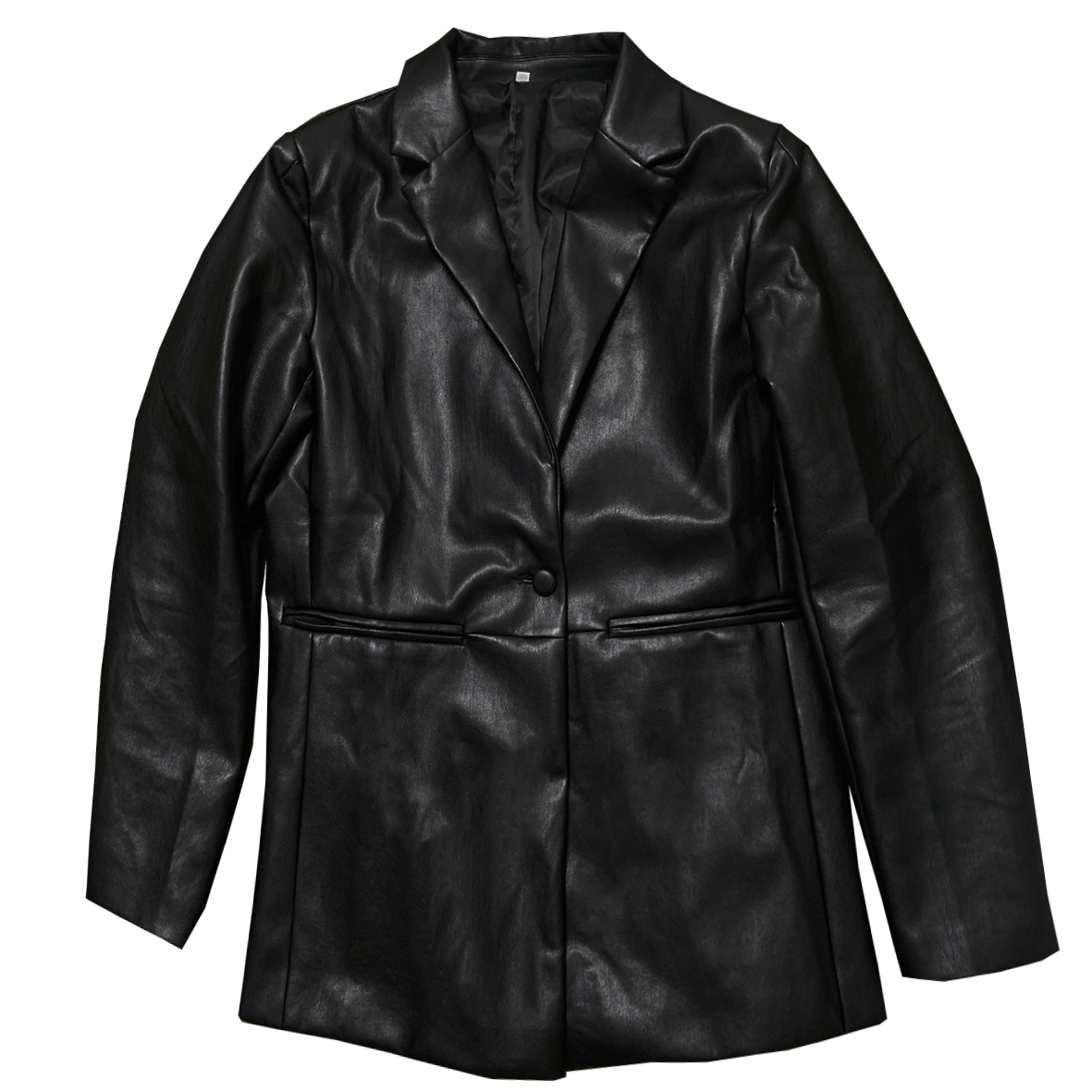 Oversize Leather Coat