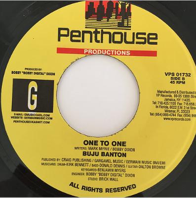 Buju Banton(ブジュバントン) - One To One【7'】