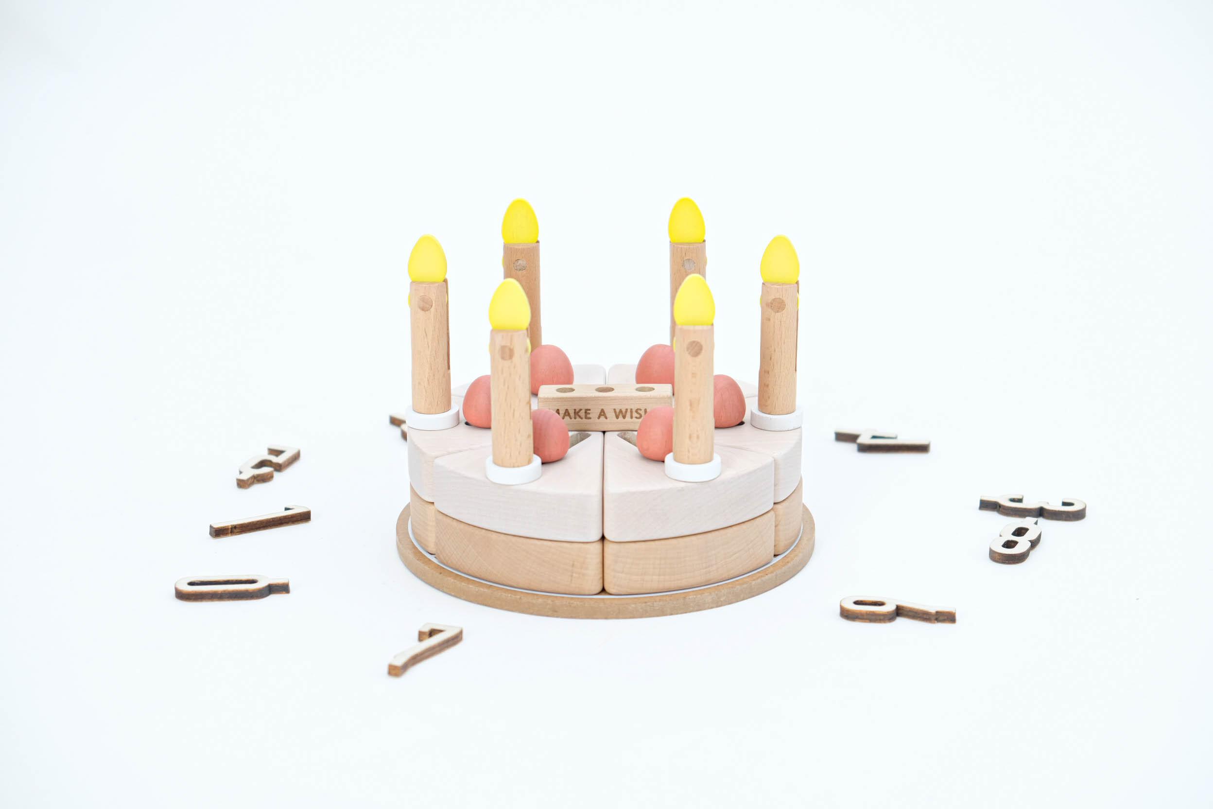 【dou toy】make a wish 木のケーキ おままごと