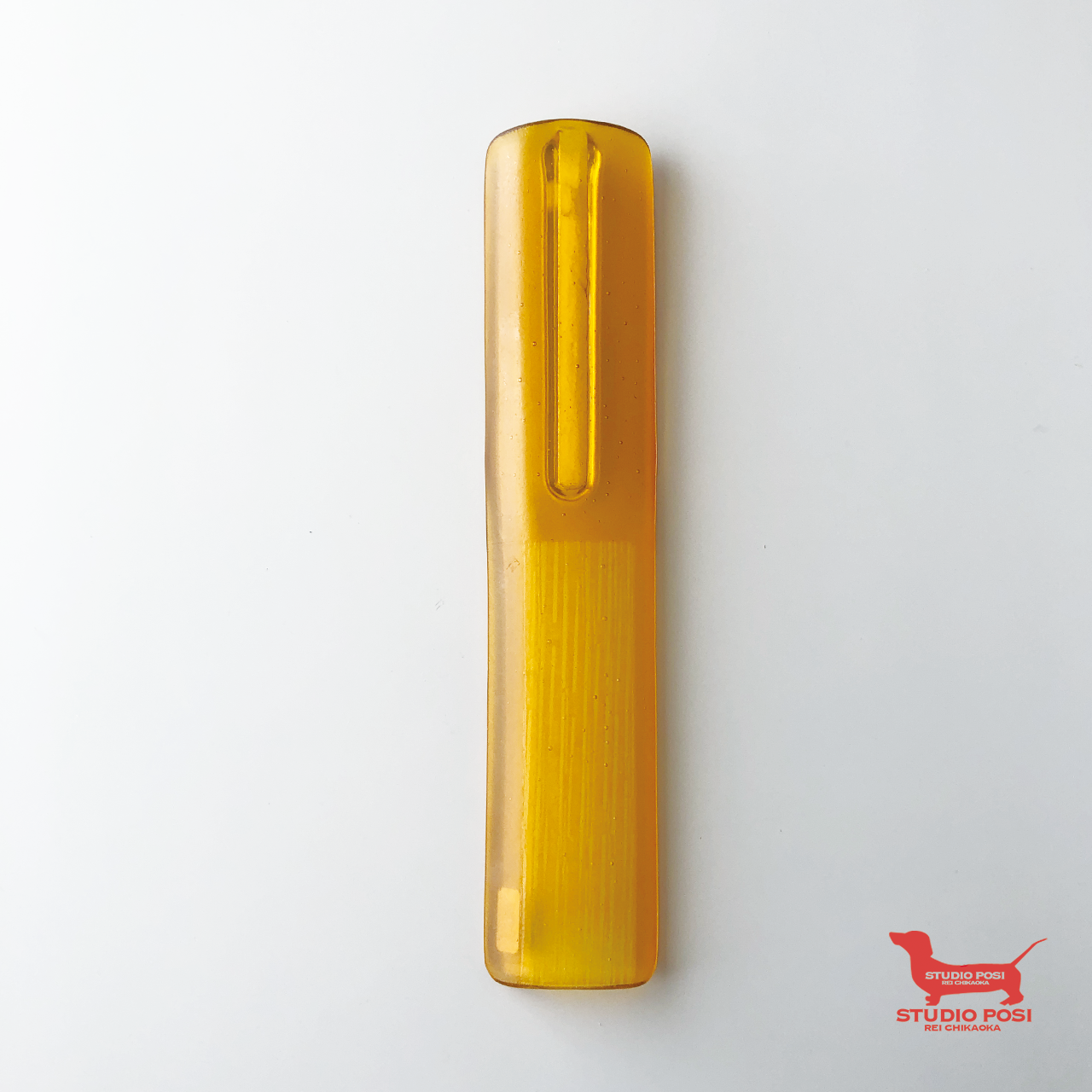 STRAW - 壁掛け花器(YELLOW)