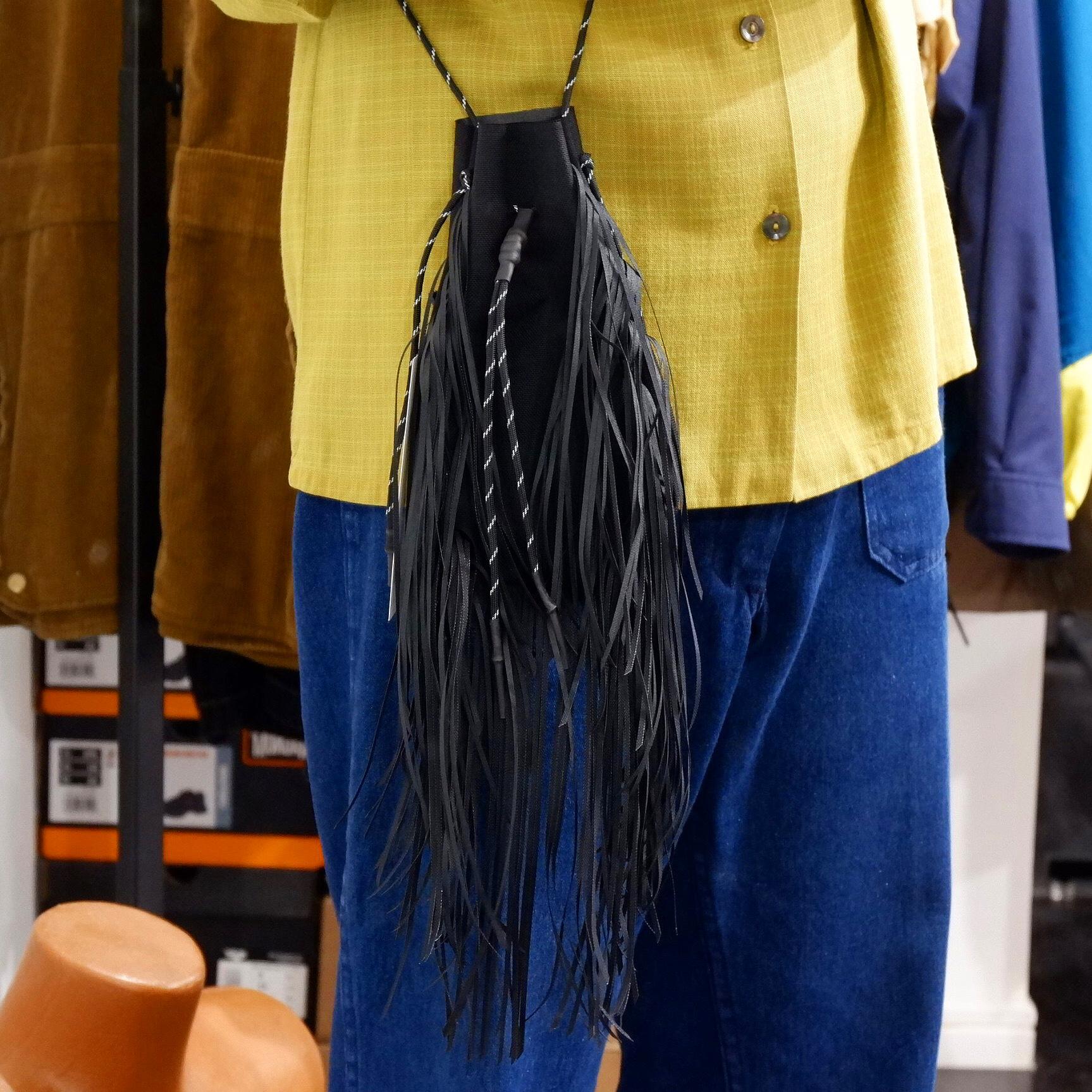 【TAITAI】Fringe Drawstring Bag S Cordura