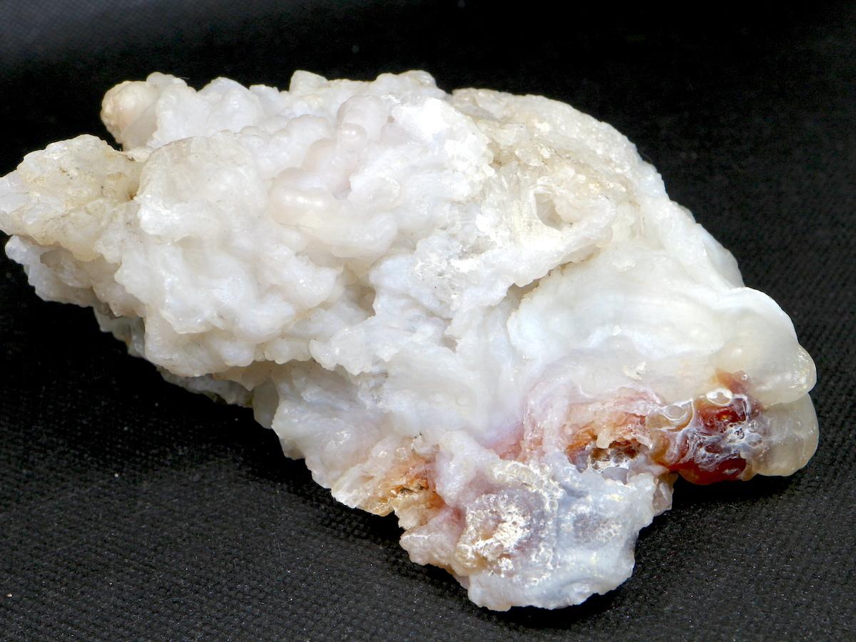 アリゾナ州産 カルセドニー ファイヤー アゲート  507,8g FA033 鉱物 原石 天然石 パワーストーン