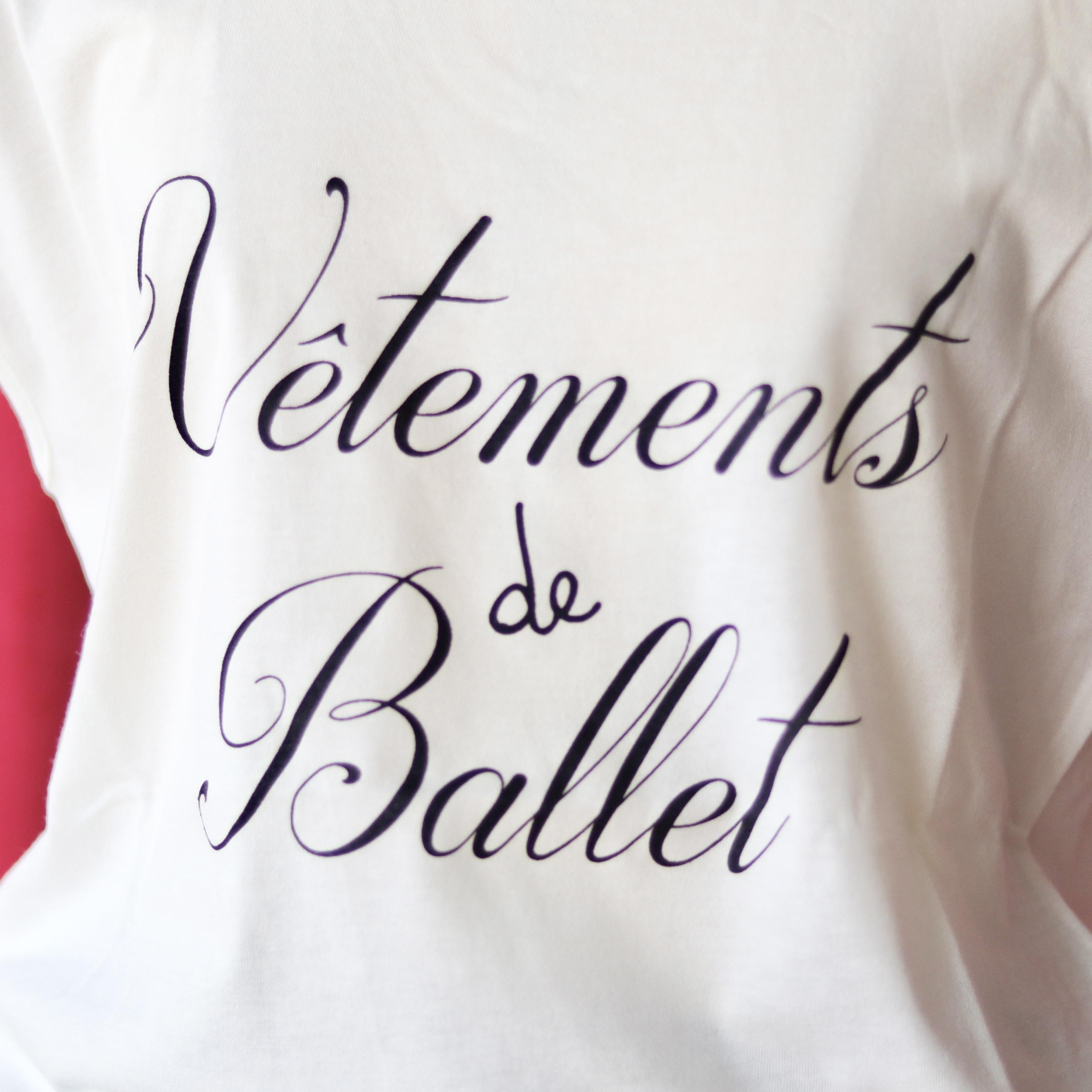 バレエロゴトップス Vetements de Ballet