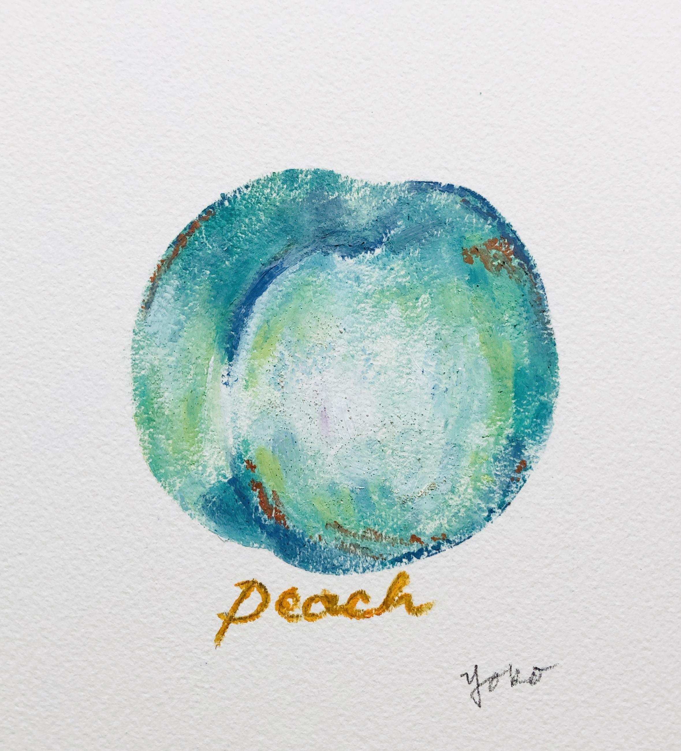 peach-green
