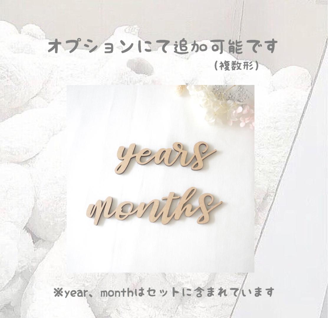 複数 形 month