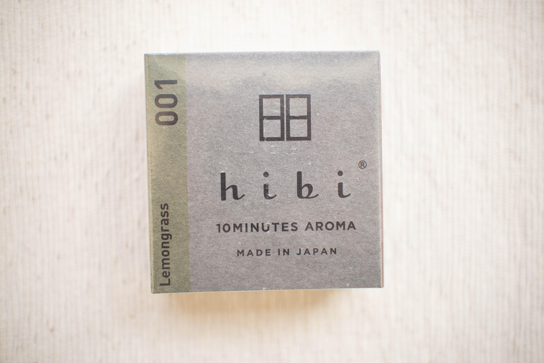 hibi アロママッチ(レモングラス)