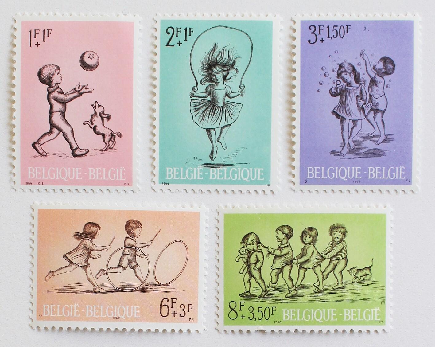 子どもの遊び / ベルギー 1966