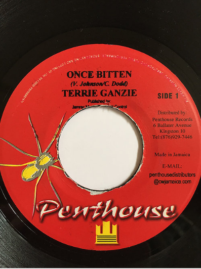 Terrie Ganzie(テリーガンジー) - Once Bitter【7inch】