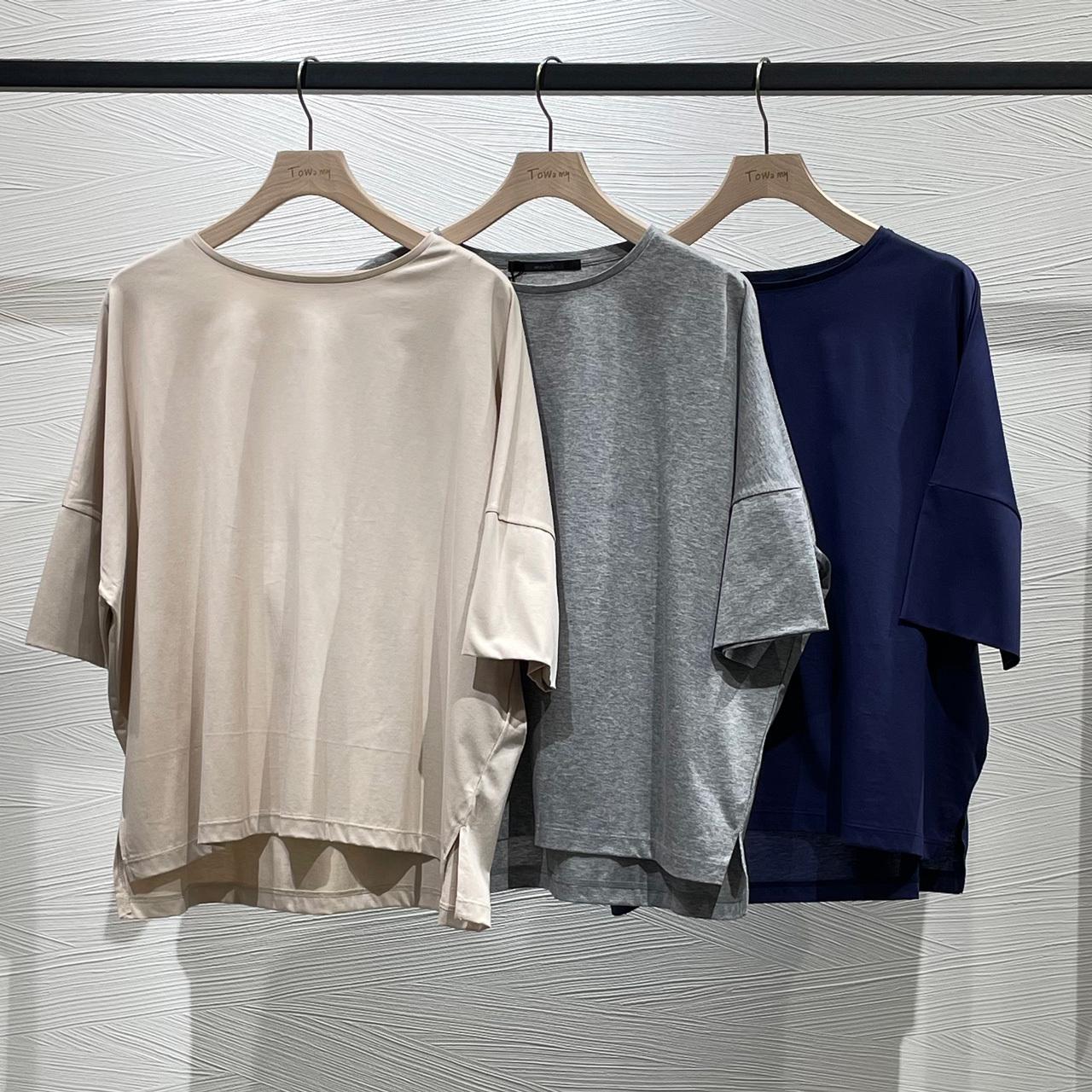 コンパクトクールロレアルジャージーワイドTシャツ