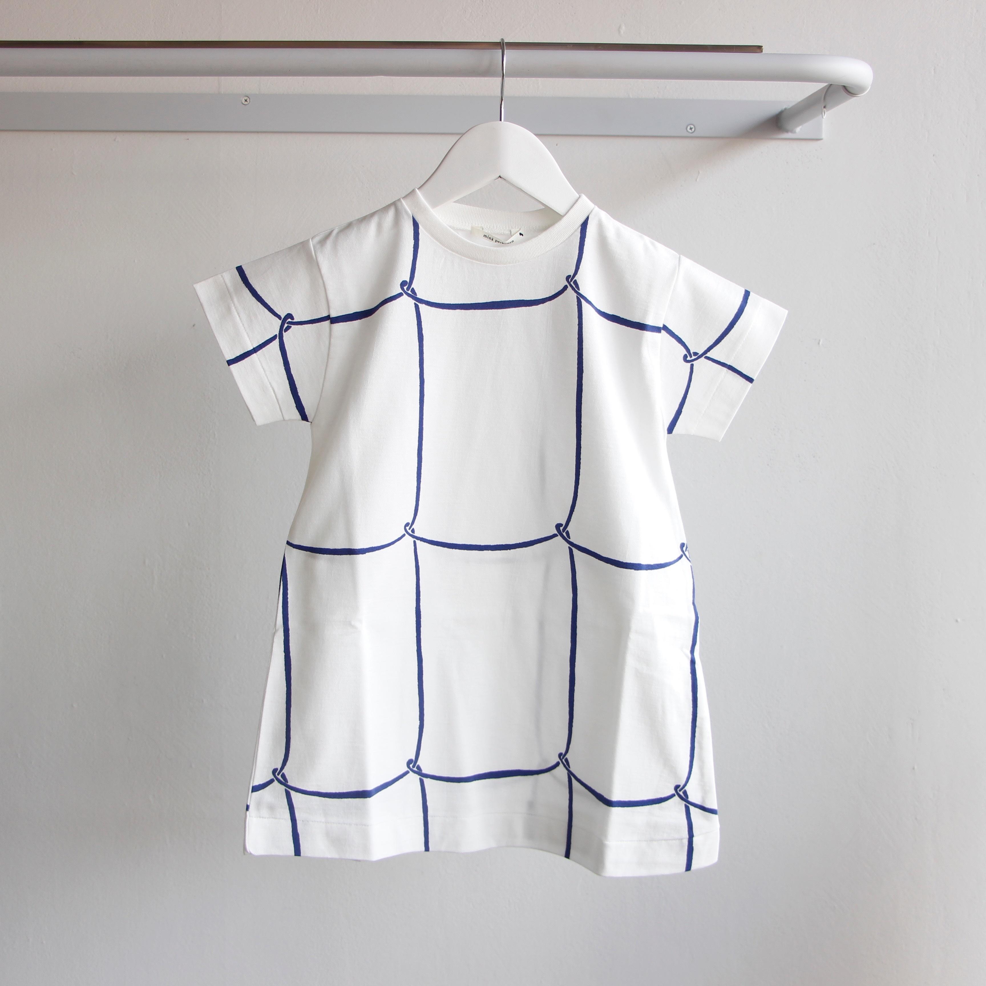 《mina perhonen 2018SS》ribbon frame ワンピース / white / 110-130cm