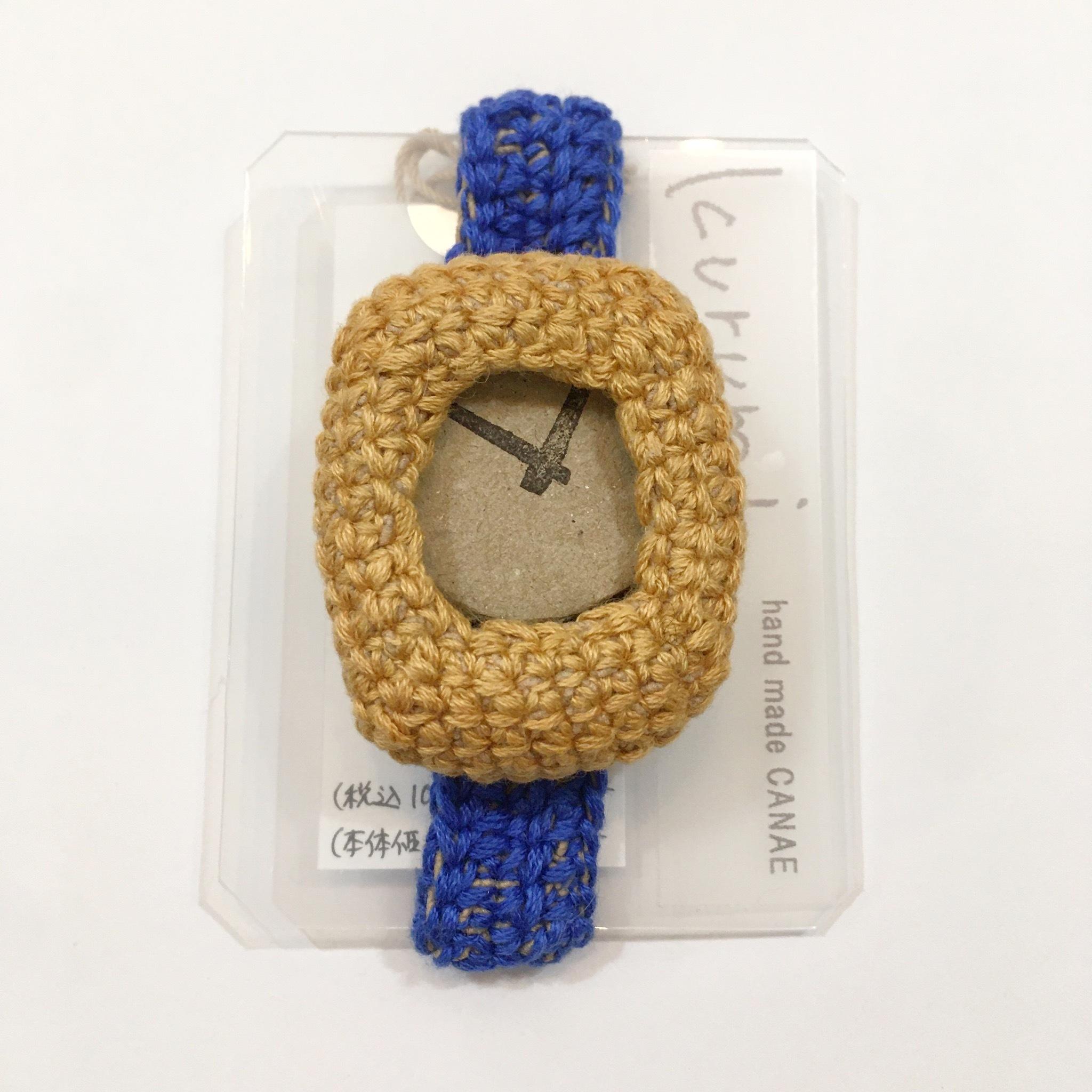 【handmadeCANAE】kurumi時計 替えベルト(大) Lサイズ