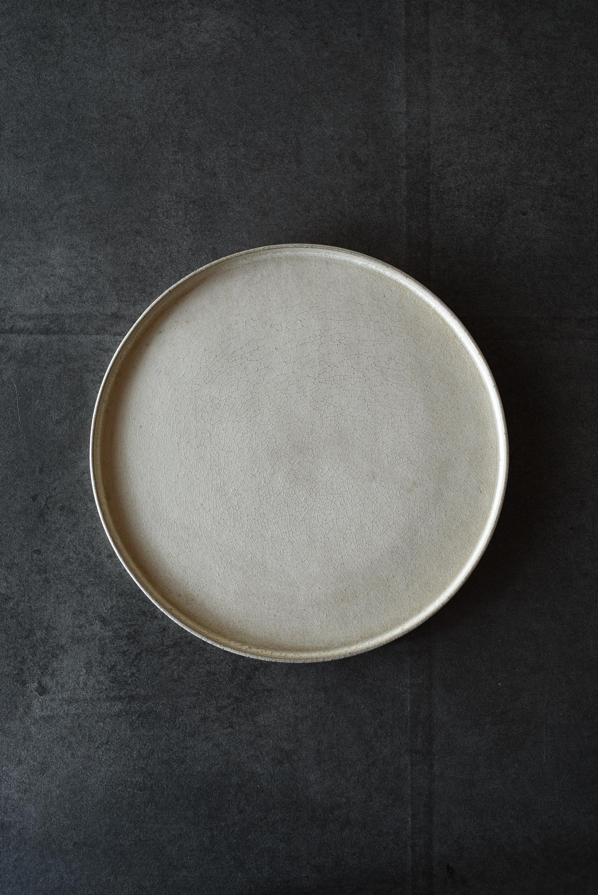 瀬川辰馬 硫化銀彩プレート大シルバー-s3