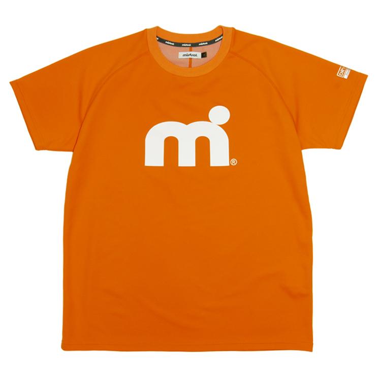 ミストラル ユニセックス【HP-DRY(ハイドロフォビックドライ)半袖Tシャツ -エムドット-】 ORANGE