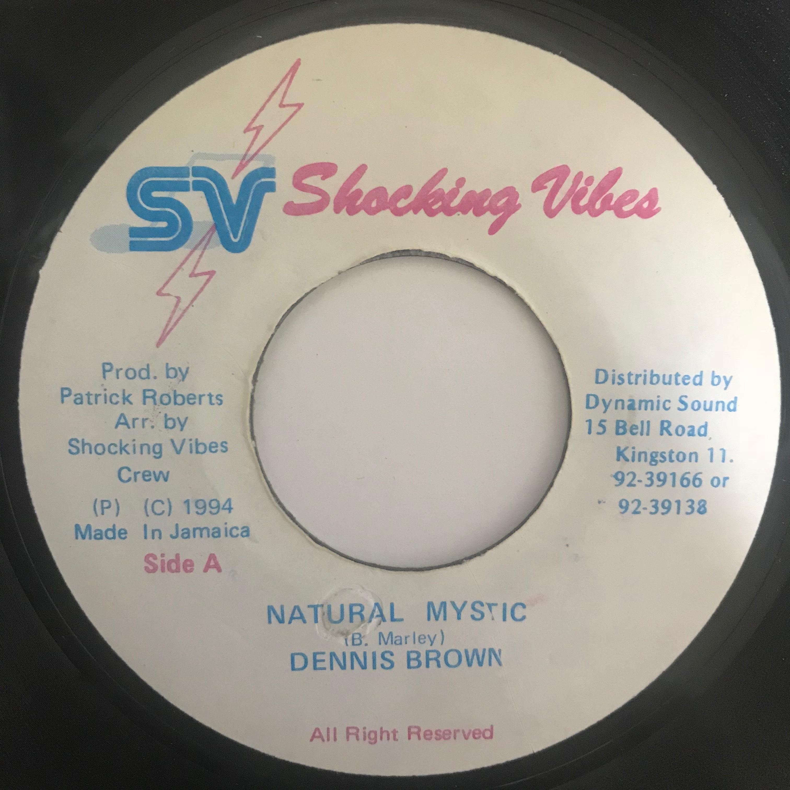 Dennis Brown (デニス ブラウン) - Natural Mystic【7-10766】