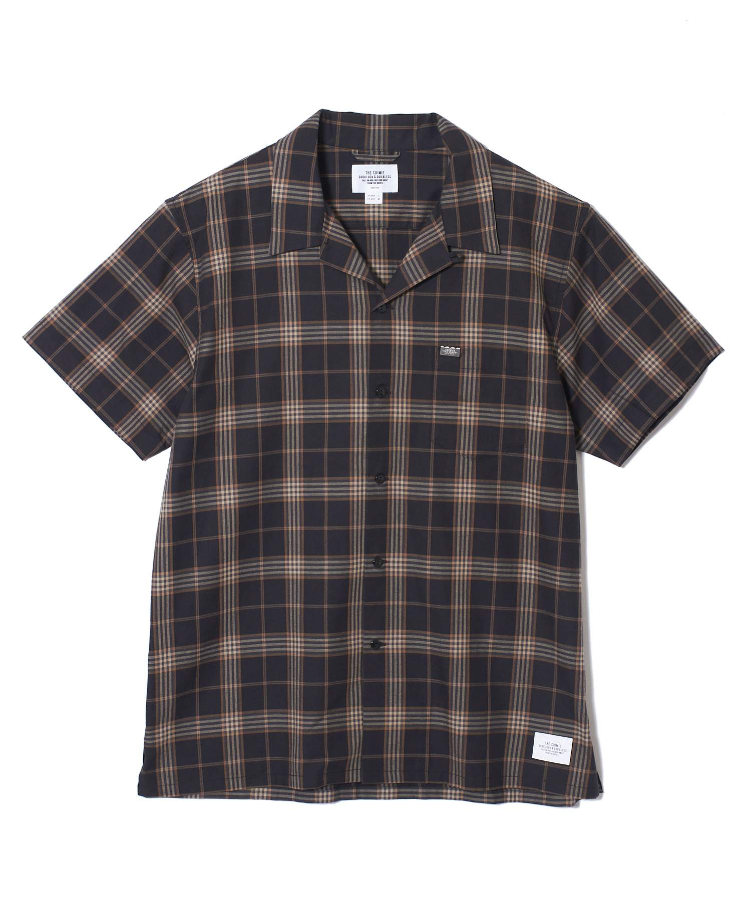 CRIMIE / CR1-02A1-SS06 / LONDON CHECK SHORT SLEEVE