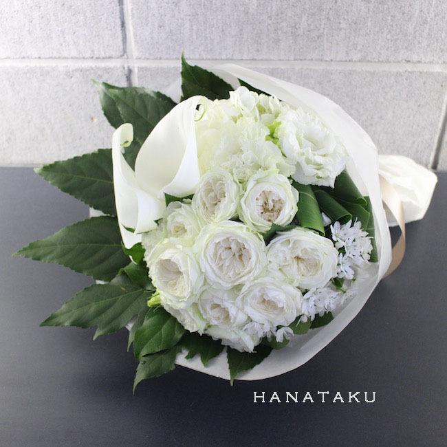 <お祝い花束>- 8,000円の花束を贈る