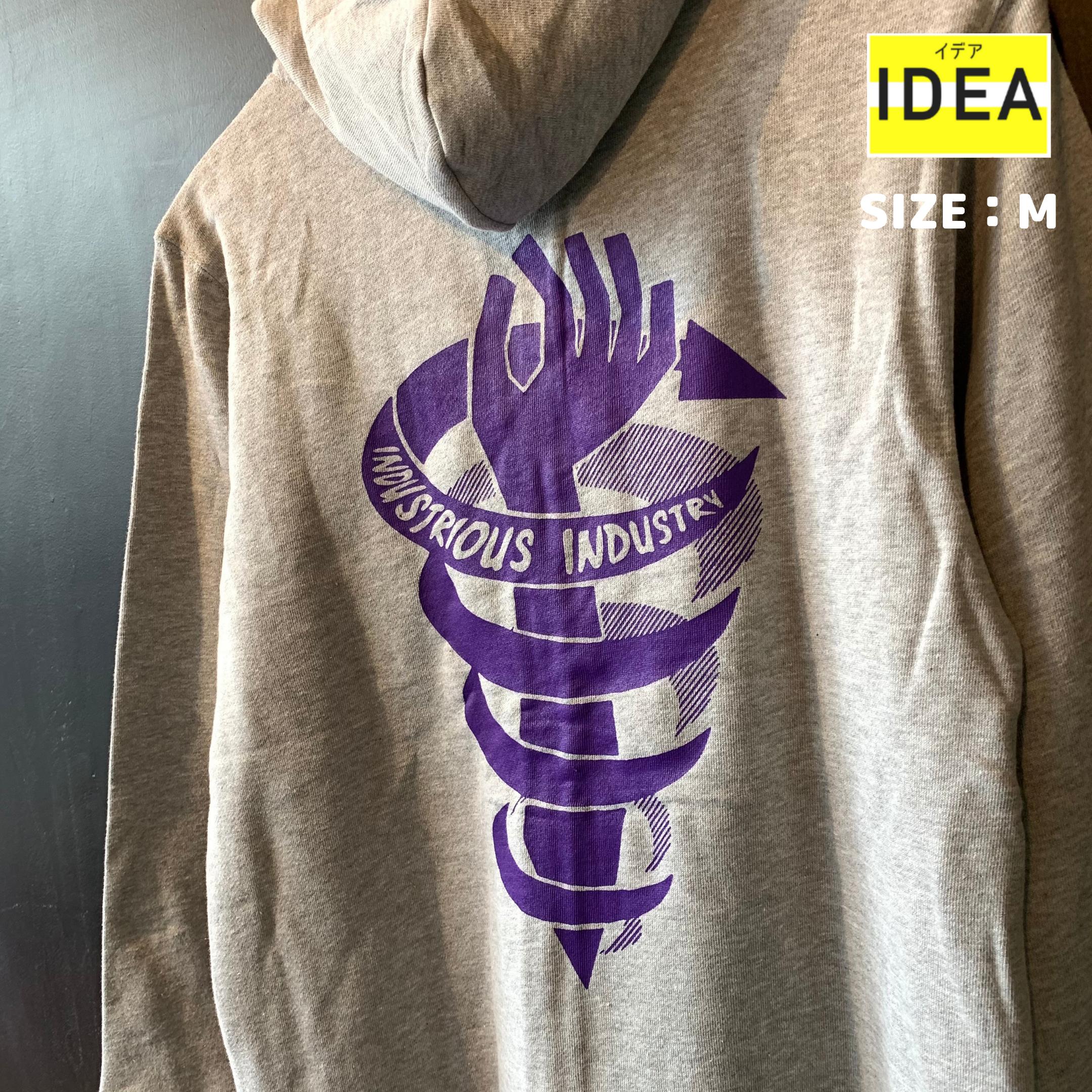 【IDEA】spiral hoodie