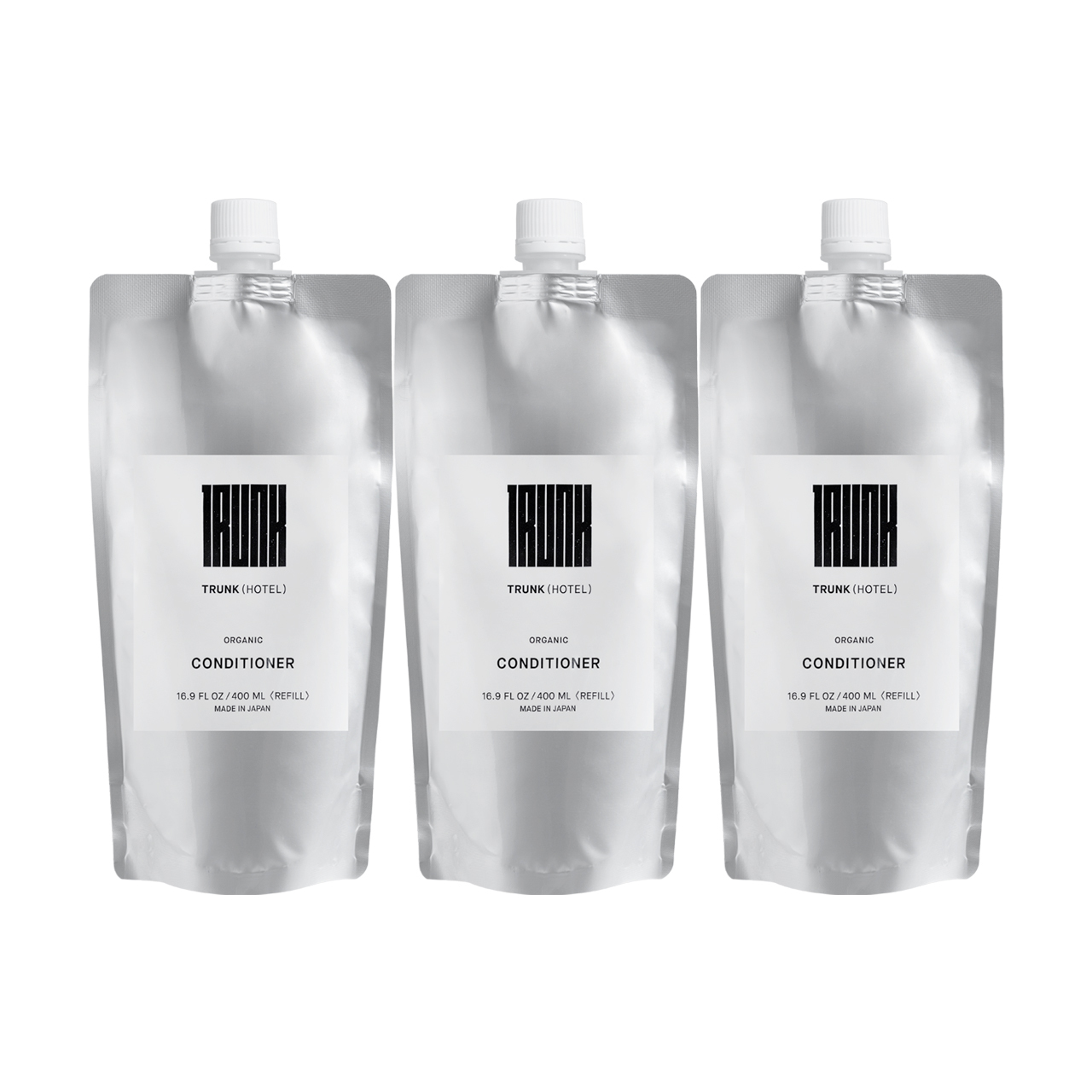【SET】TRUNK Organic Conditioner Refill ×3