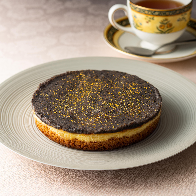 丹波産黒豆のベイクドチーズケーキ