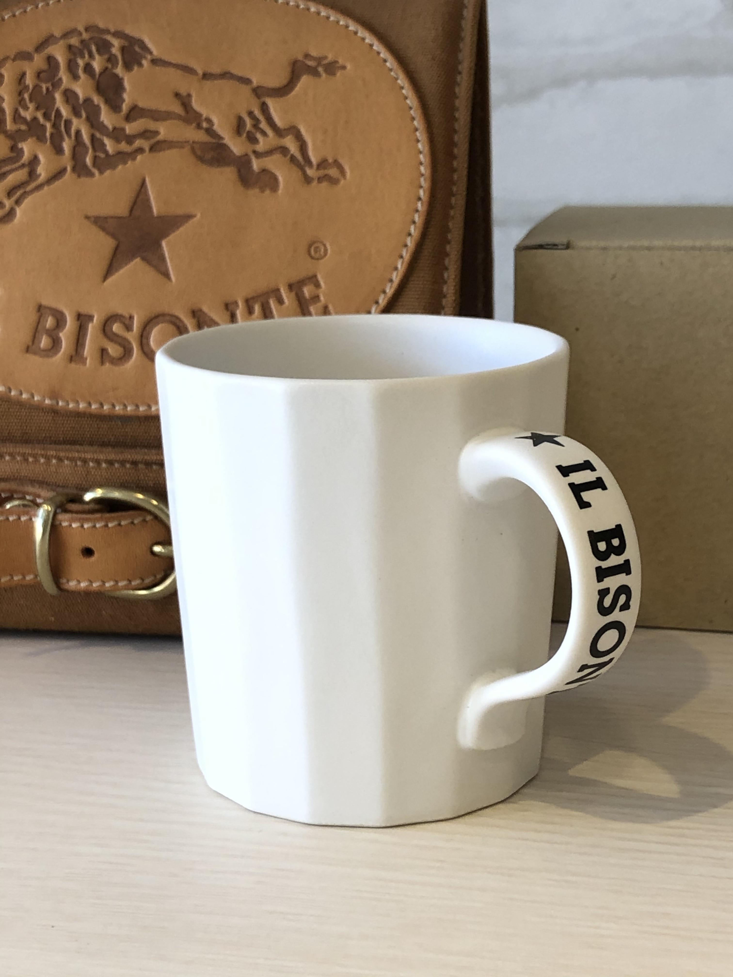 IL BISONTE(イルビゾンテ)/4198/マグカップ(ホワイト)