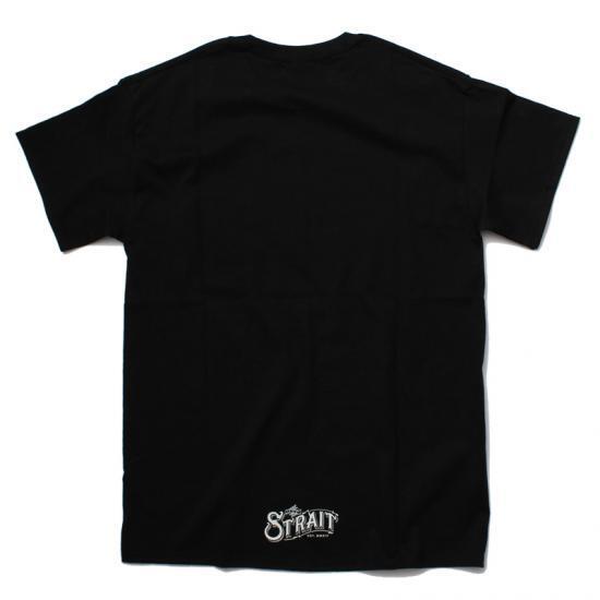 STRAIT POCKET T-SHIRTS #BLACK