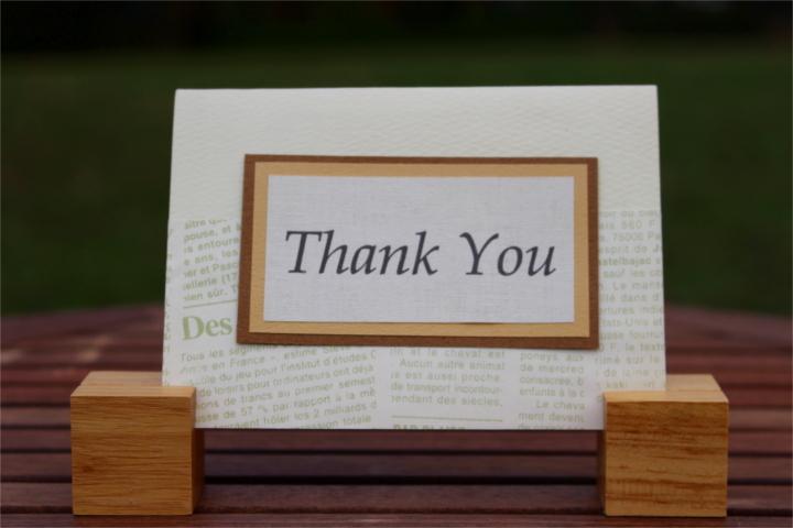 """Shiori のメッセージカード """"Thank You""""_1"""