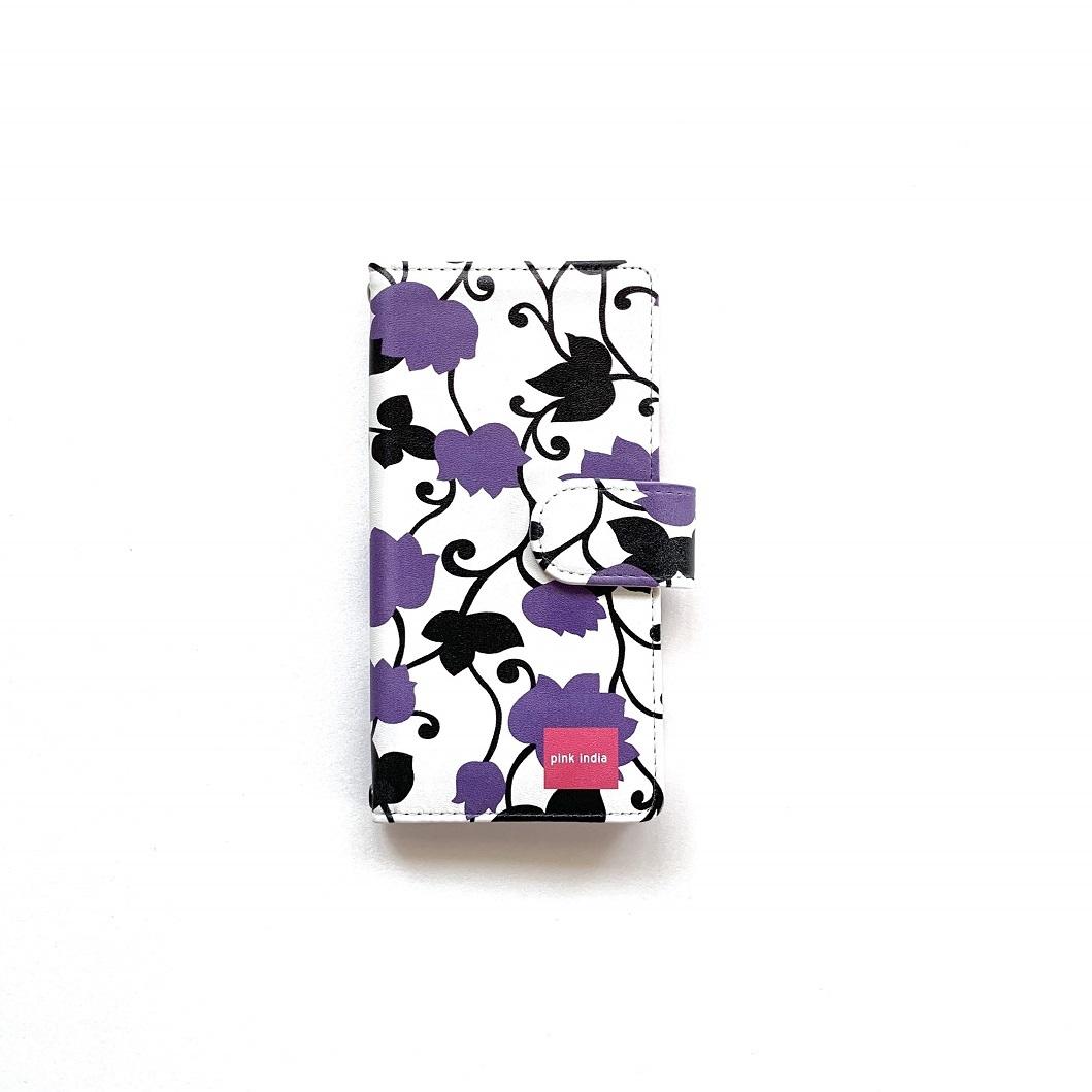 北欧デザイン Android対応手帳型マルチケース  | matthew purple