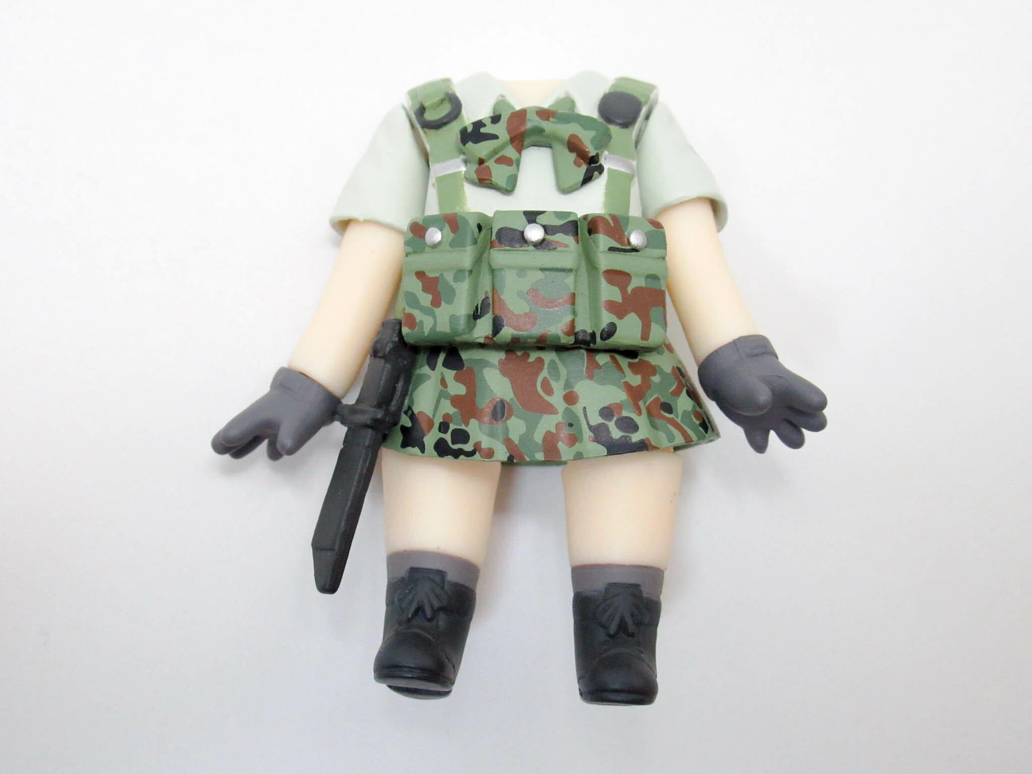 【1052】 豊崎恵那  体パーツ 戦闘服 ねんどろいど