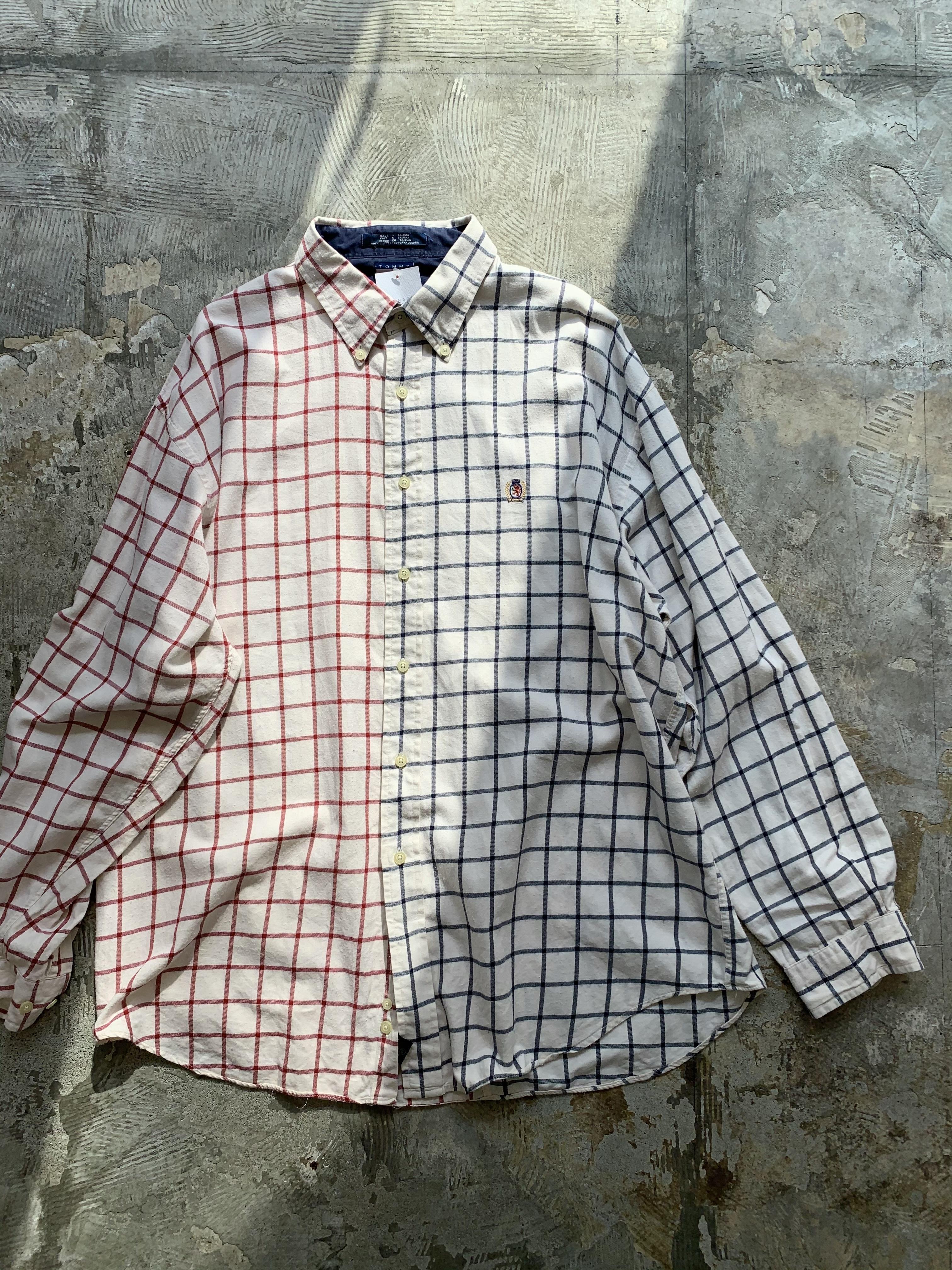 """"""" TOMMY HILFIGER """" vintage over fitting shirt"""