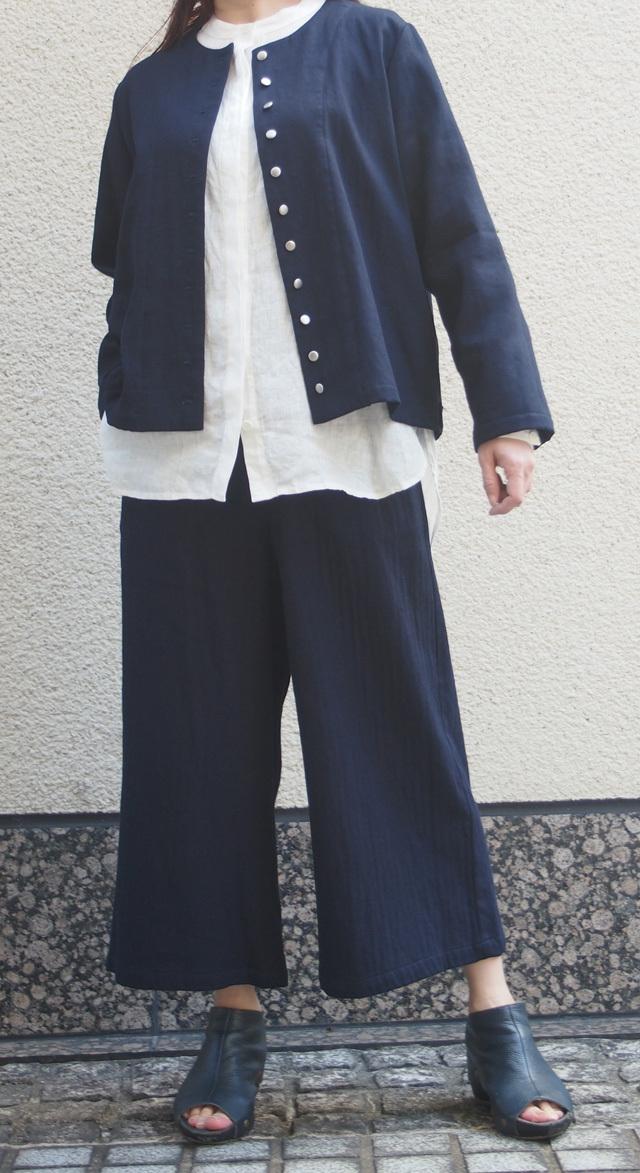 【ワーキングオフィス】はおり(藍)ww1444