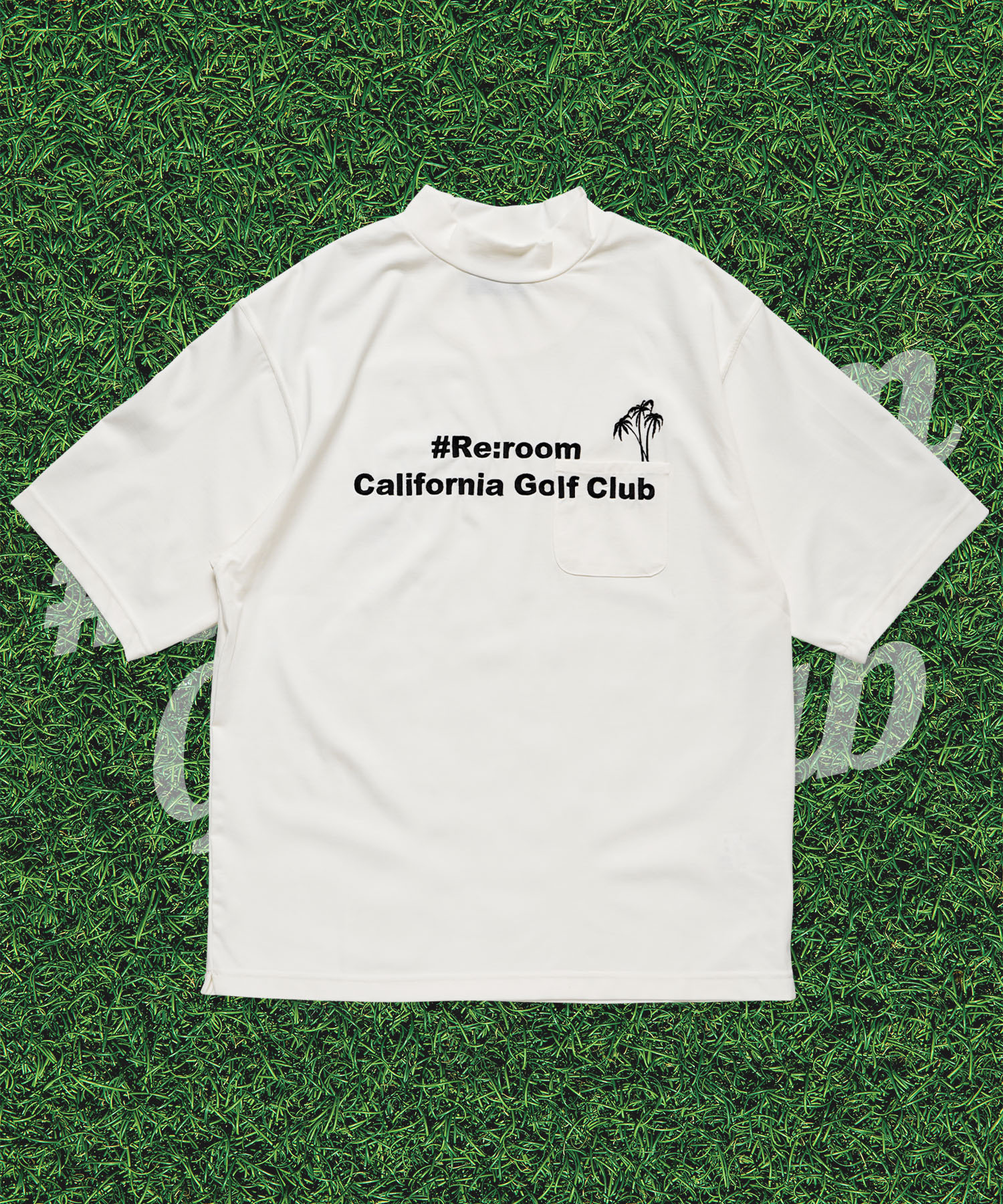 RCGC EMBROIDERY MOCK NECK T-shirt[RGC004]