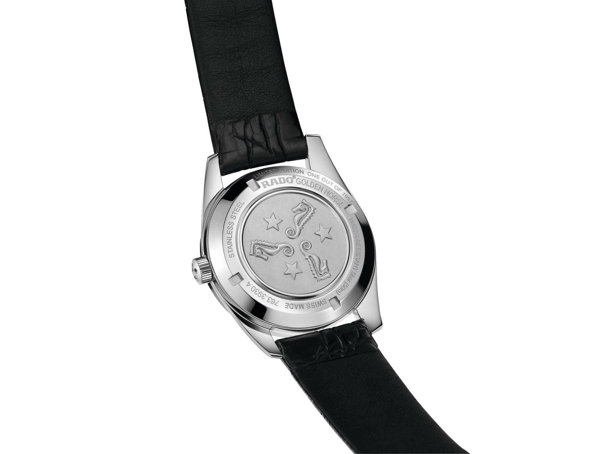 【RADO ラドー】復刻限定品/Golden Horse1957 Limited Edition ゴールデンホース1957本限定/国内正規品 腕時計