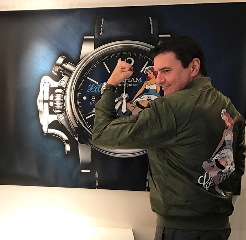 【GRAHAM グラハム】Chronofighter Vintage Nose Art Ltd クロノファイターヴィンテージ ノーズアート『Belle ベル』世界限定100本/国内正規品 腕時計