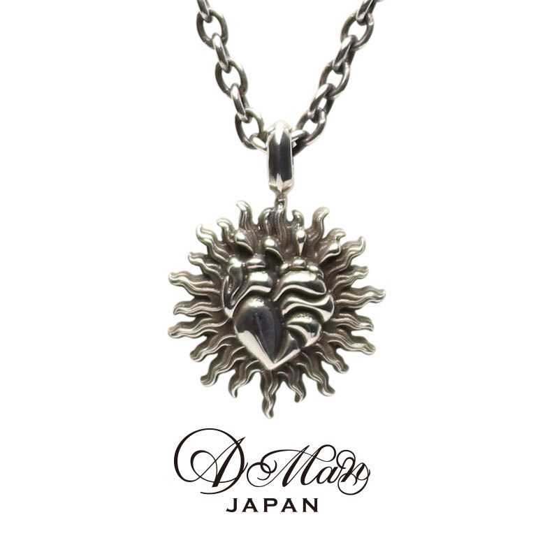A Man Heart Necklace エーエムエーエヌ ハートネックレス
