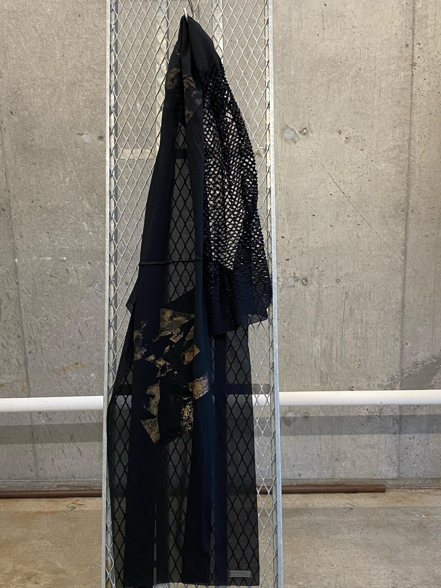 DRESS SCARF 1点モノ【COTTONコットン】713521 ONE OFF SCARF[送料/税込]