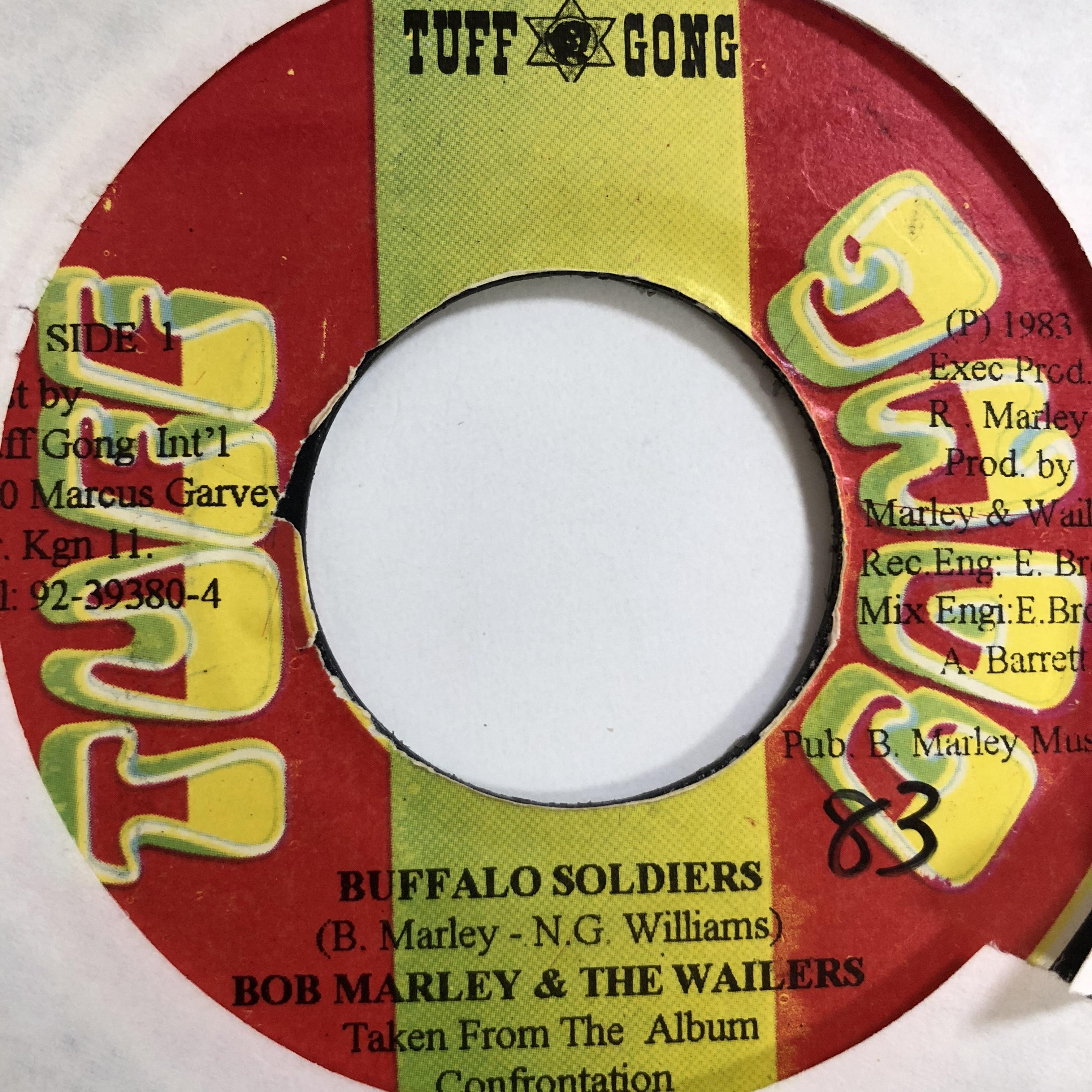 Bob Marley(ボブマーリー) - Buffalo Soldier【7'】