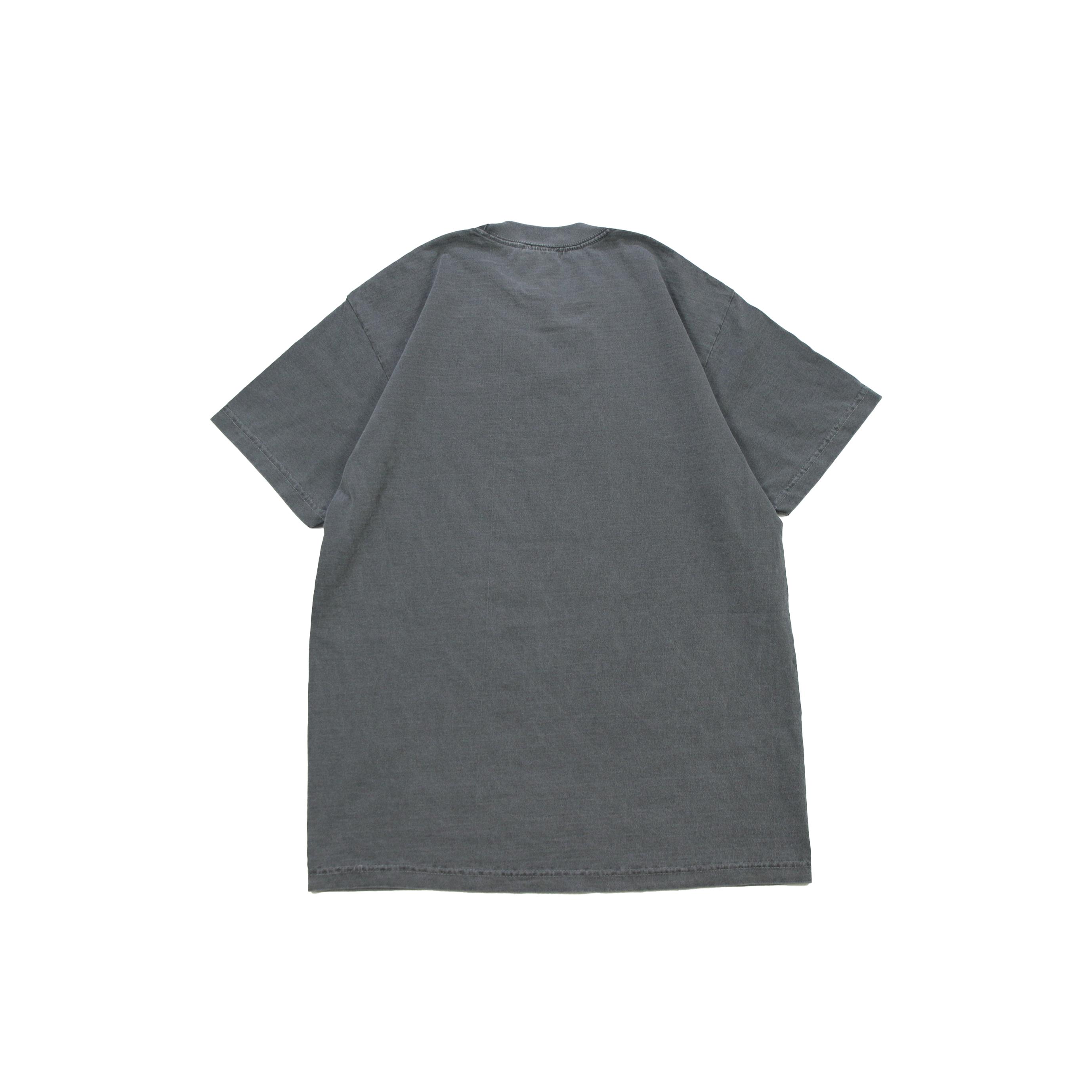 Euro Blazz Super Heavy Garment Dye TEE [Silver Gray]