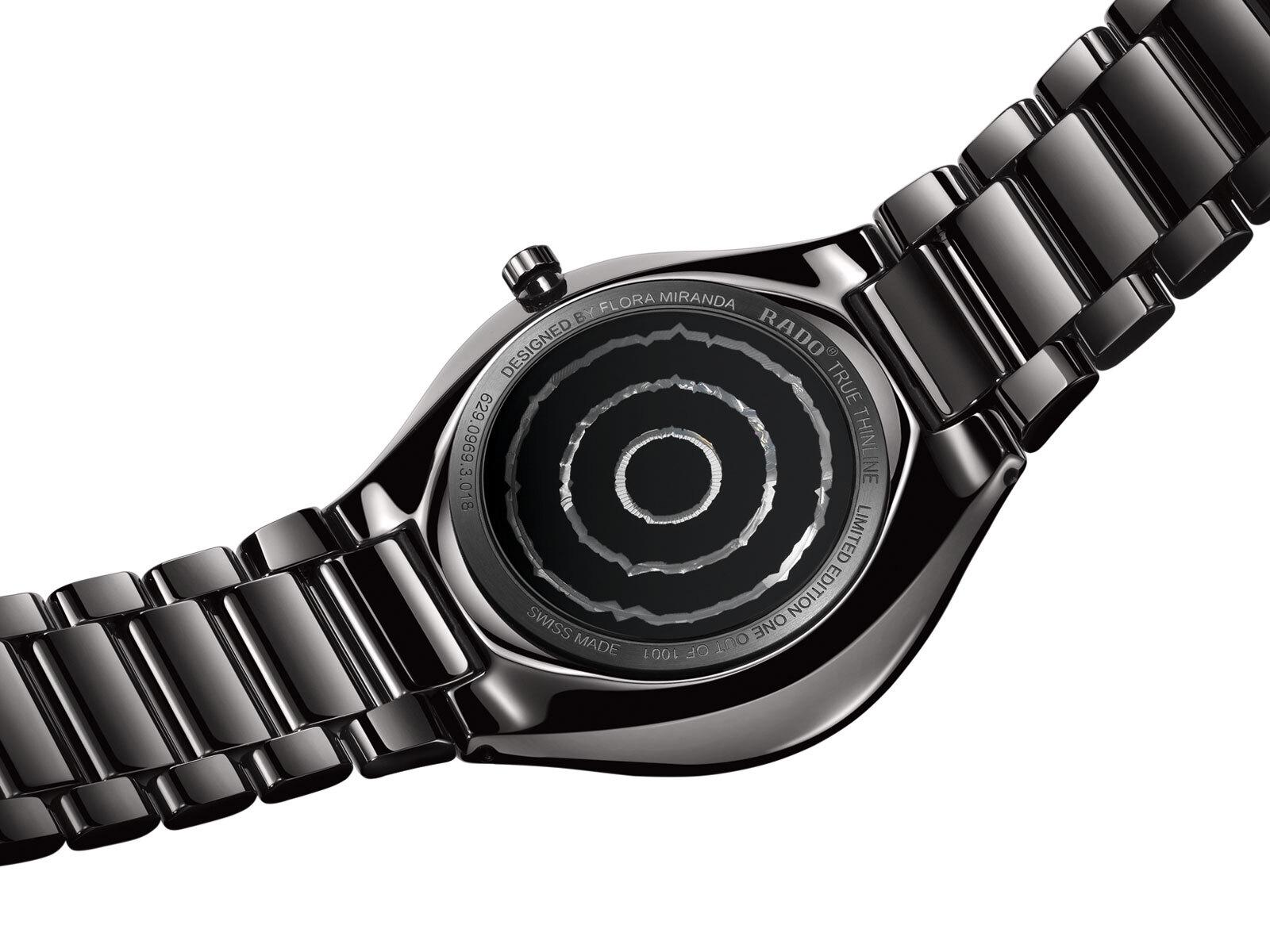 【RADO ラドー】True Thinline DEEP WEB シンライン ディープウェブ 1001本限定/国内正規品 腕時計