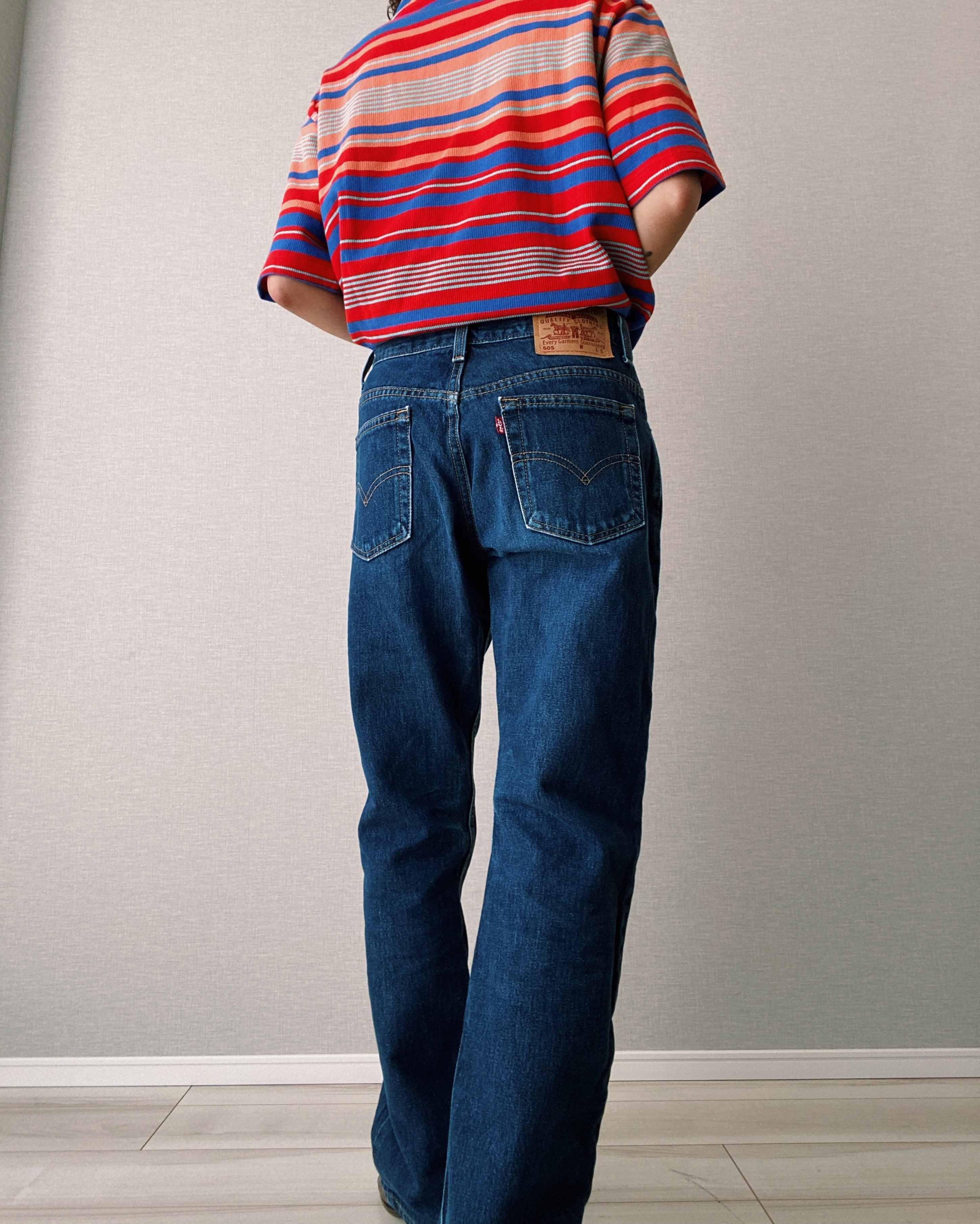 (PT253)90's Levi's 505 made in USA